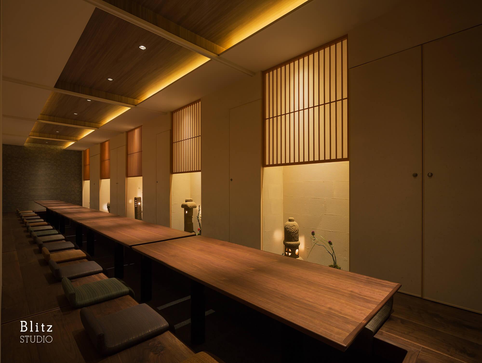 『Dining Bar Mond 2nd / 主水』建築写真・竣工写真・インテリア写真7