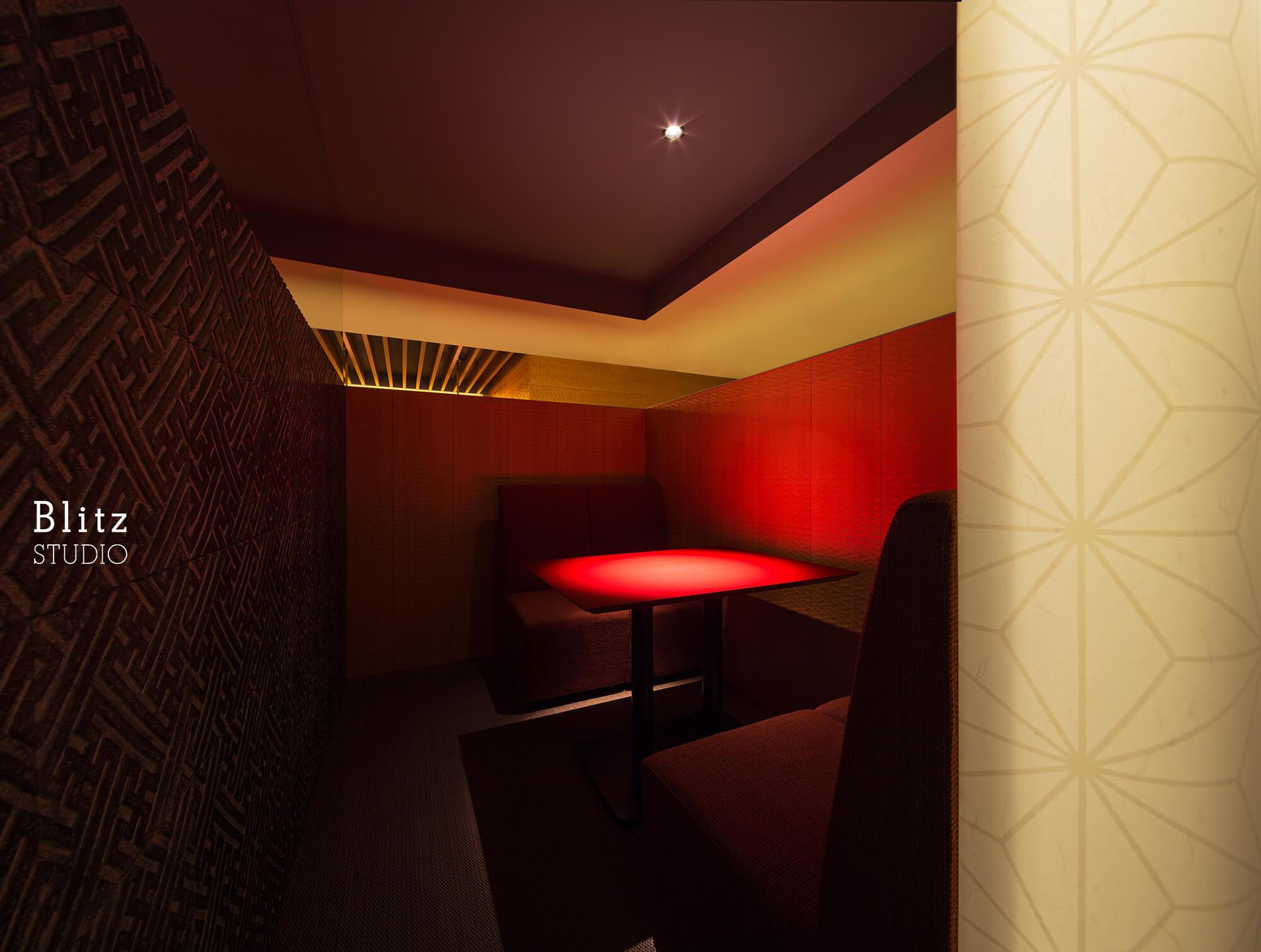 『ダイニングレストラン つきみち』建築写真・竣工写真・インテリア写真7