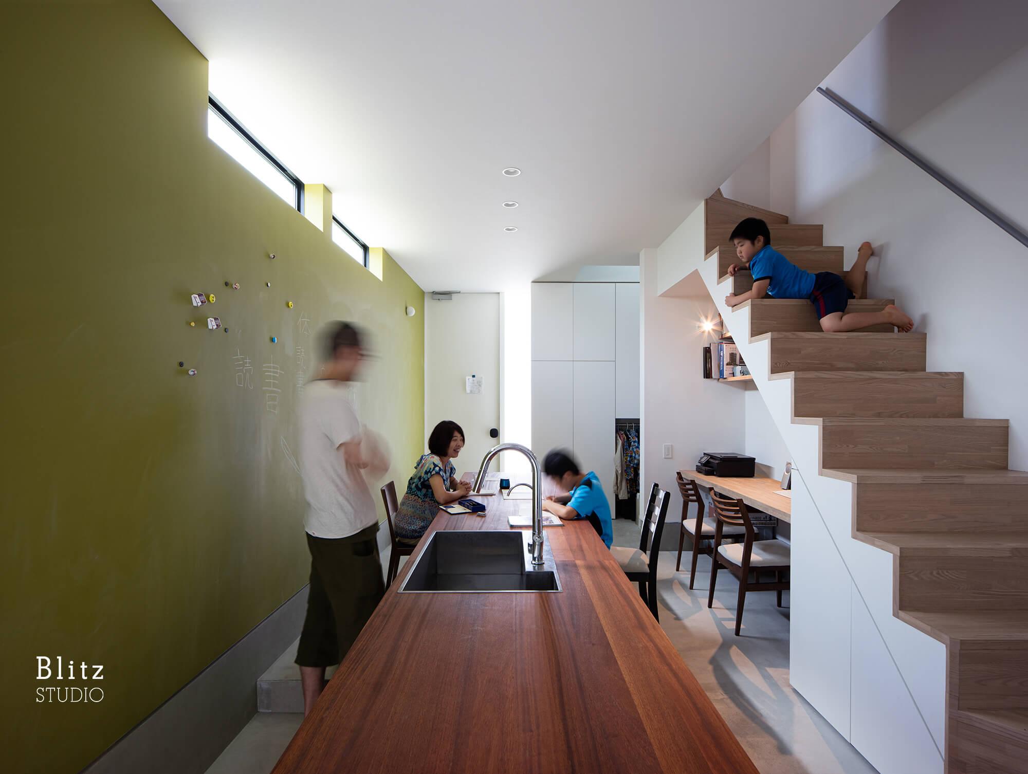 『神楽坂の家』建築写真・竣工写真・インテリア写真8