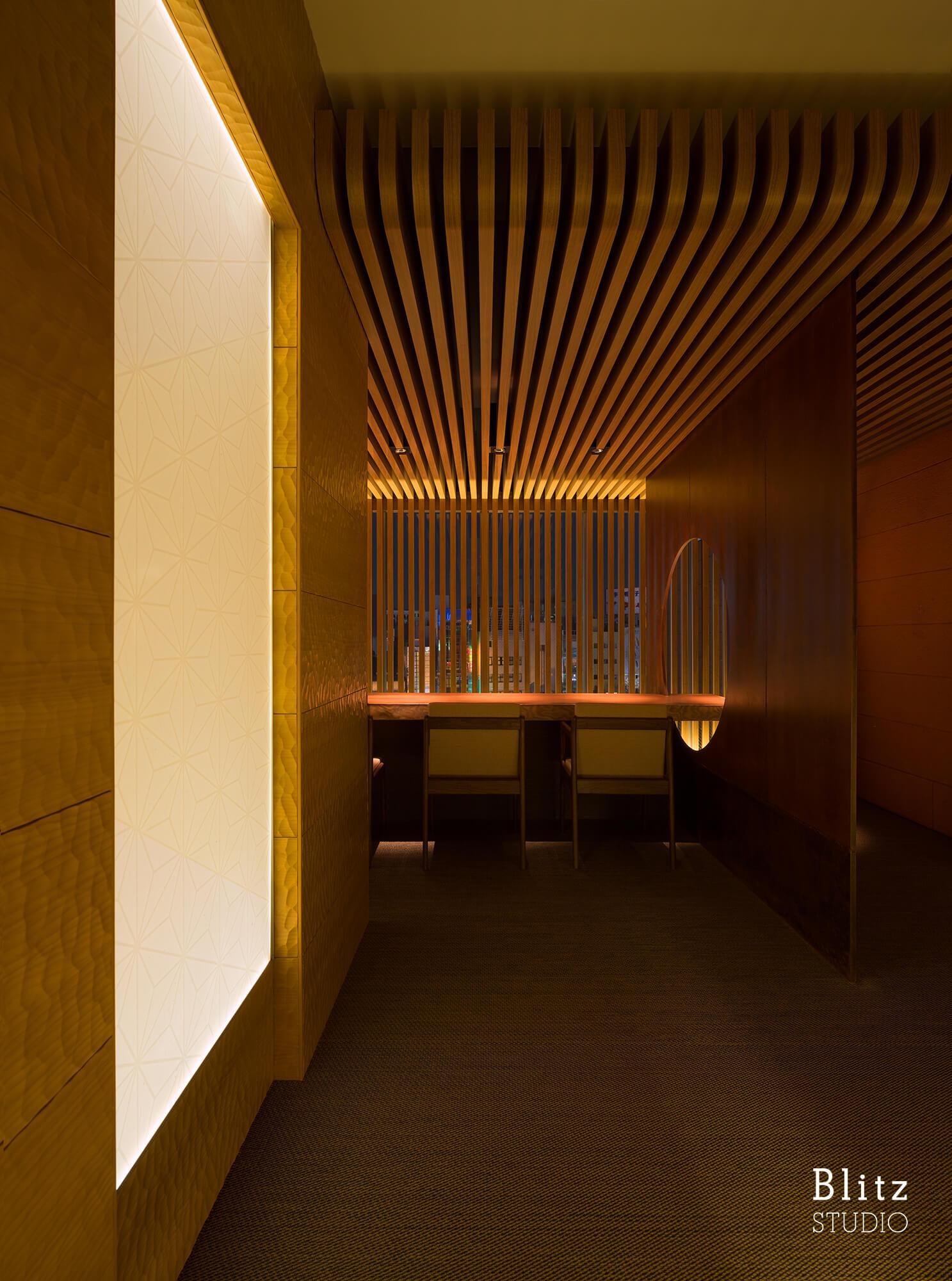 『ダイニングレストラン つきみち』建築写真・竣工写真・インテリア写真8