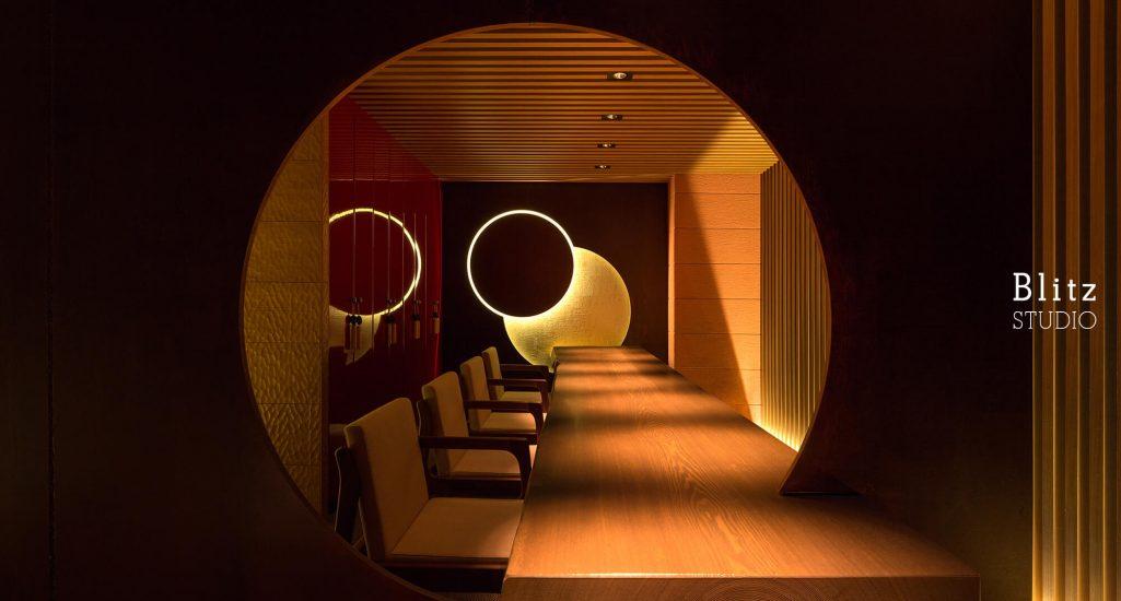 『ダイニングレストラン つきみち』-福岡県福岡市-建築写真・竣工写真・インテリア写真