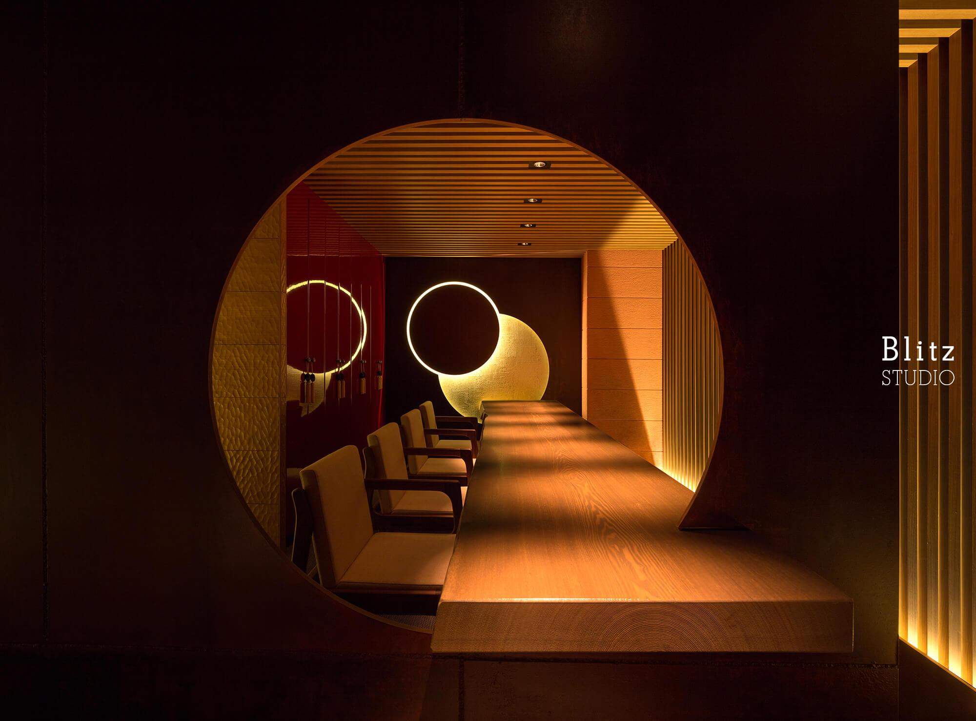 『ダイニングレストラン つきみち』建築写真・竣工写真・インテリア写真9