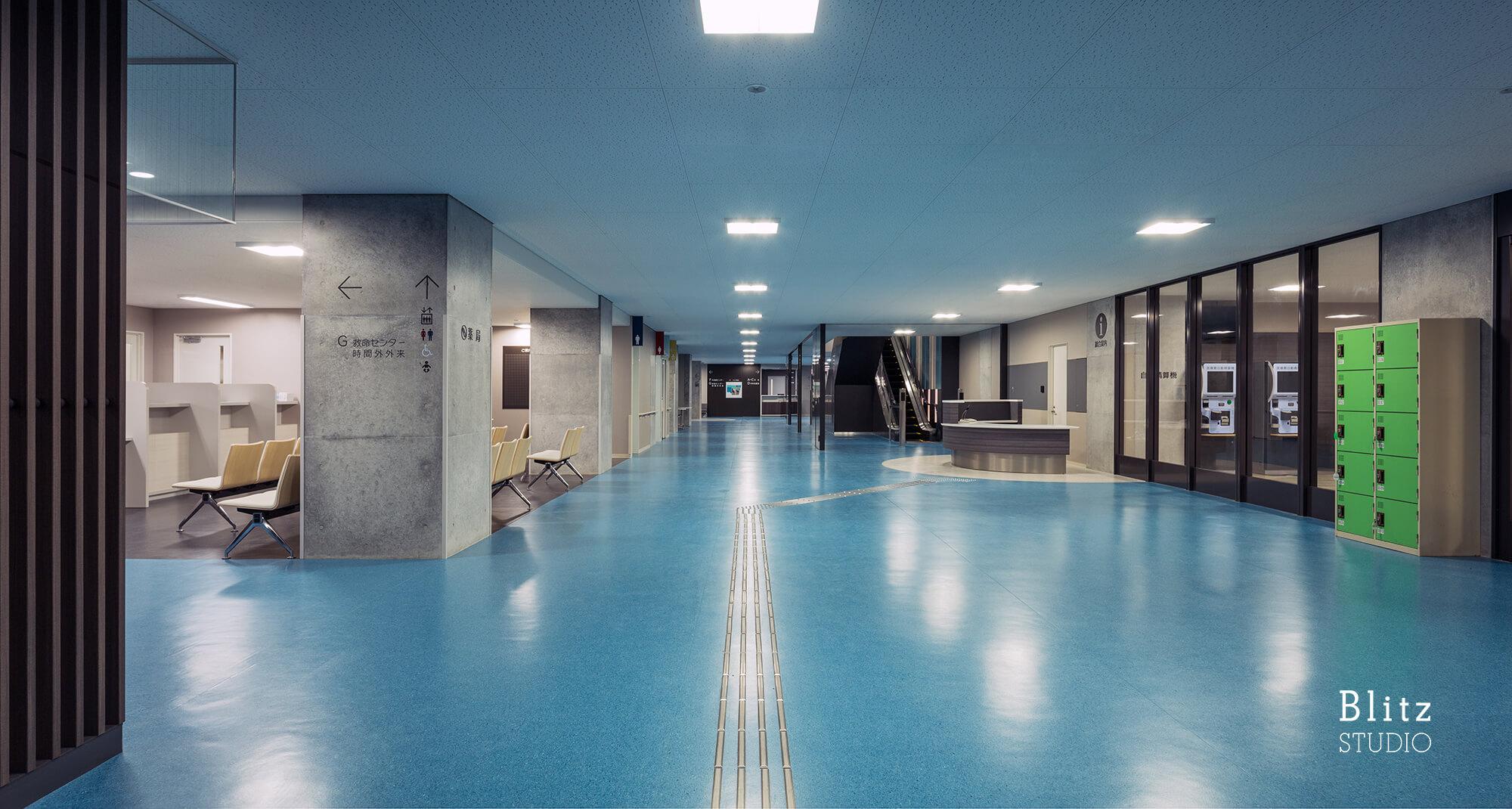 『社会医療法人鹿児島愛心会 大隅鹿屋病院』建築写真・竣工写真・インテリア写真9