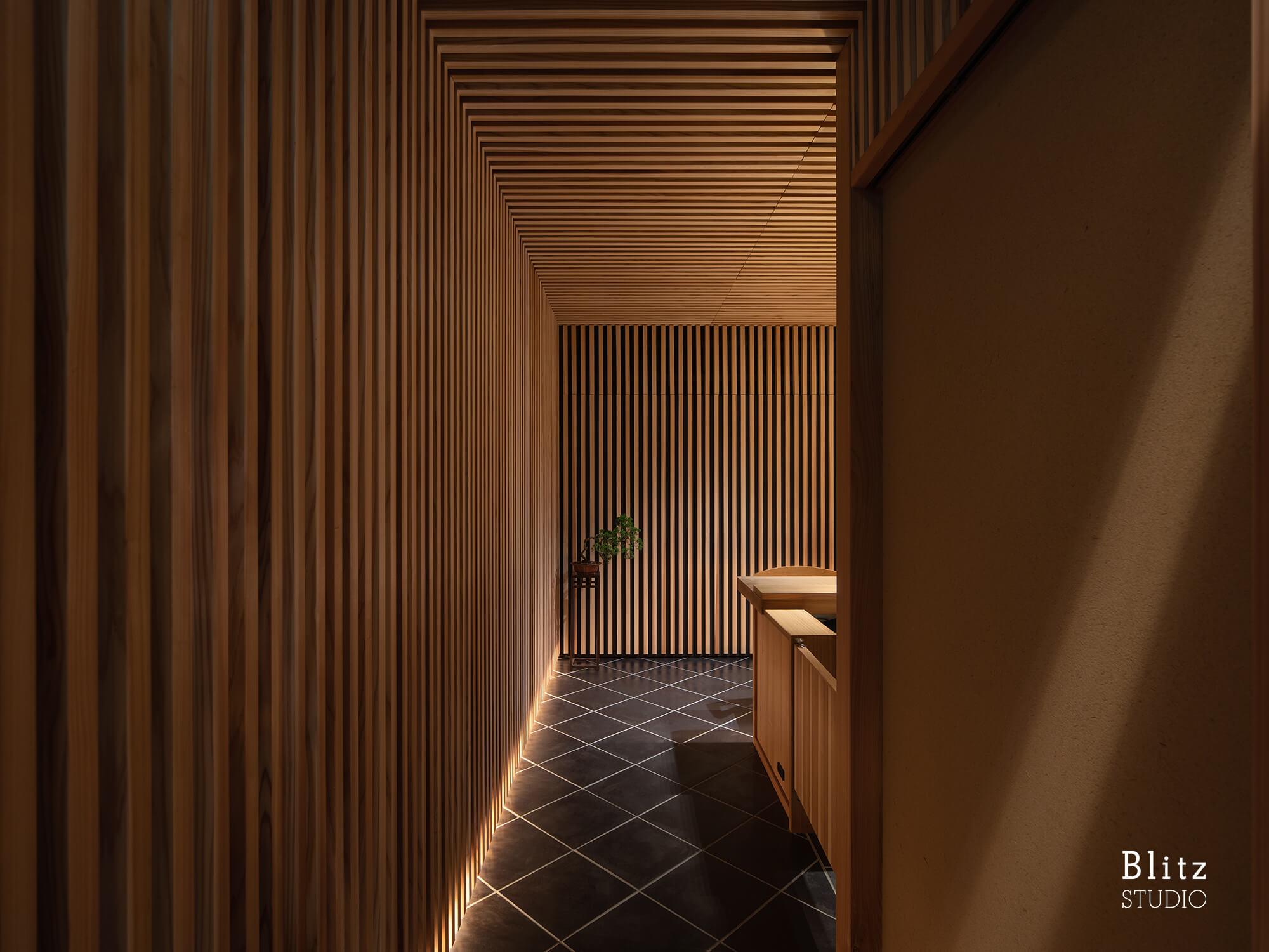 『割烹すし のりを』-福岡県福岡市-建築写真・竣工写真・インテリア写真3