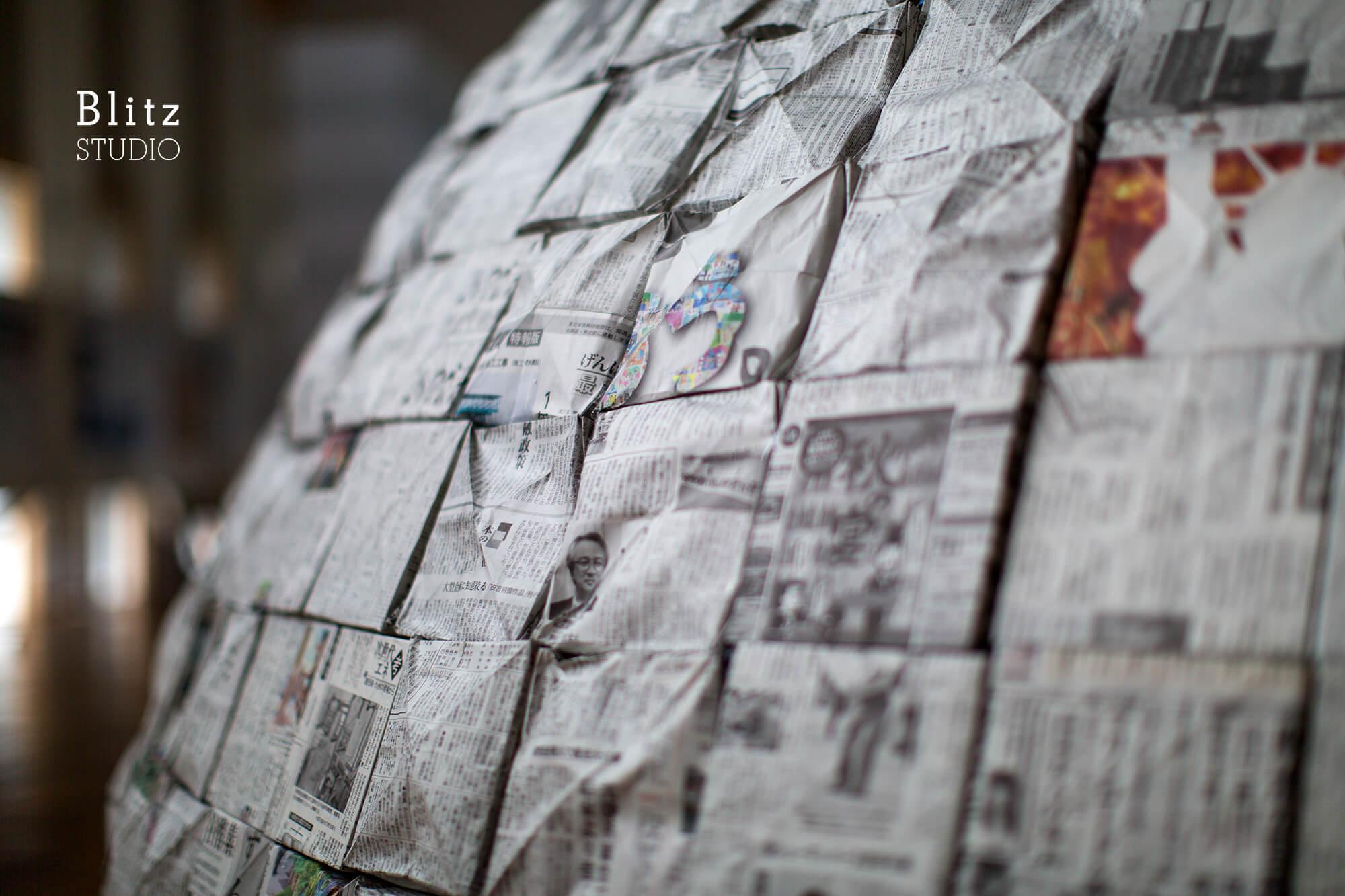『新聞紙イグルー』-鹿児島県鹿児島市-建築写真・竣工写真・インテリア写真1
