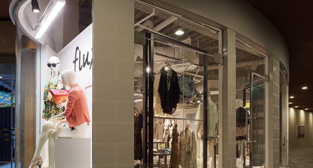 『フラックス キャナルシティ オーパ店』-福岡県福岡市-建築写真・竣工写真・インテリア写真