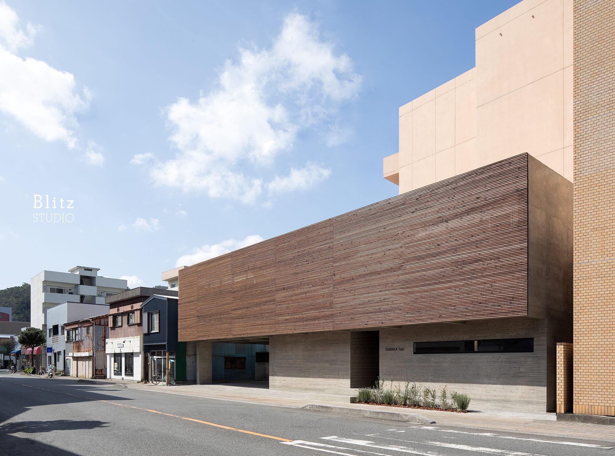 『田中タクシー』-鹿児島県奄美大島-建築写真・竣工写真・インテリア写真2