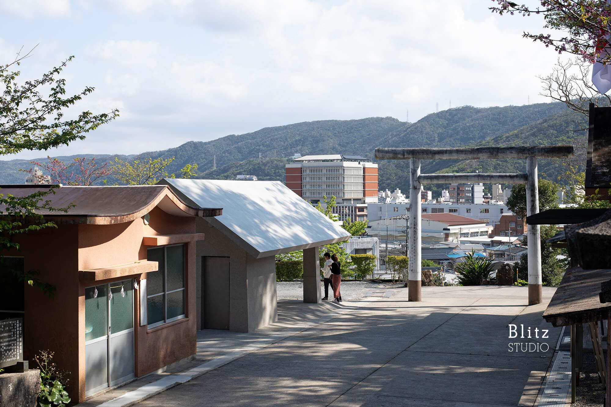 『高千穂神社』-鹿児島県奄美大島-建築写真・竣工写真・インテリア写真1