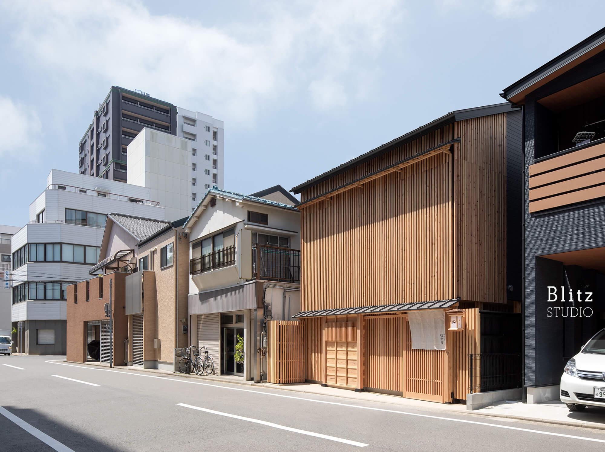 『博多の宿 徒然庵』-福岡県福岡市-建築写真・竣工写真・インテリア写真1