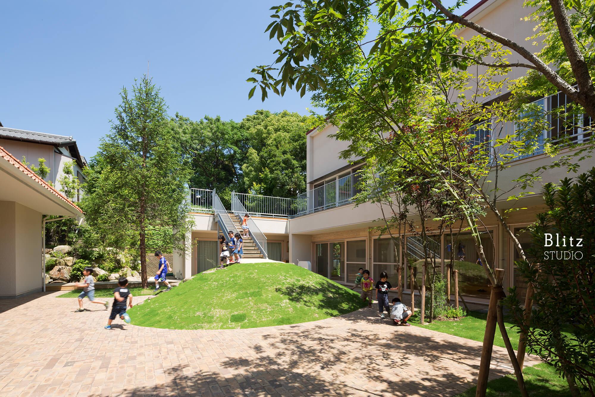 『みやまの森こども園』建築写真・竣工写真・インテリア写真11