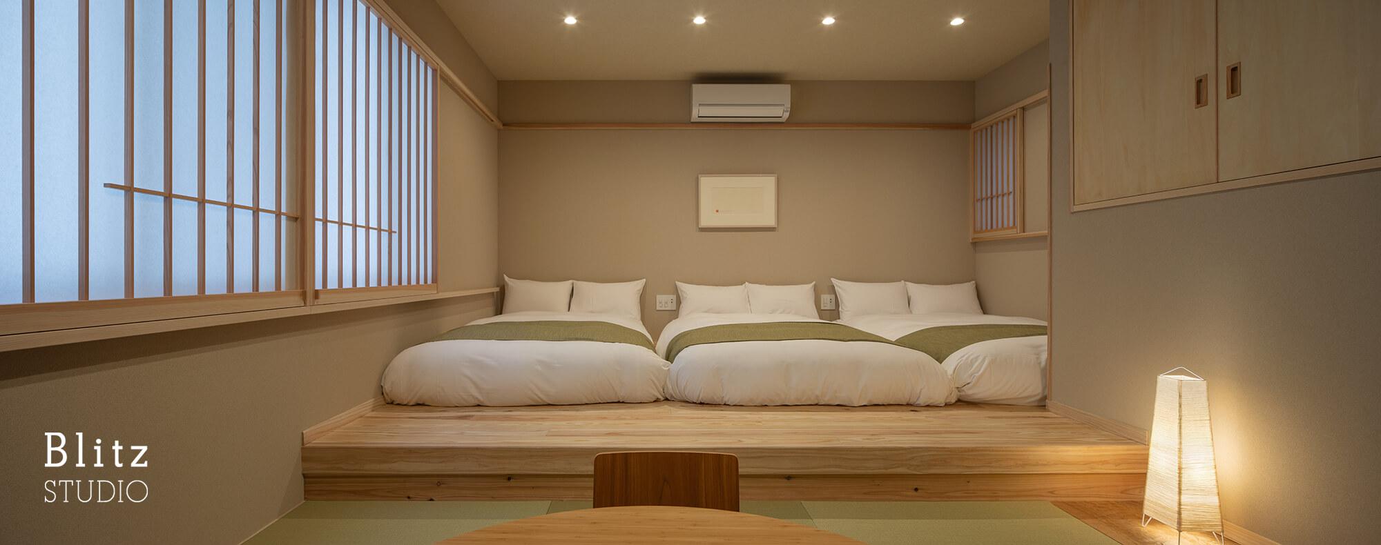 『博多の宿 徒然庵』建築写真・竣工写真・インテリア写真12