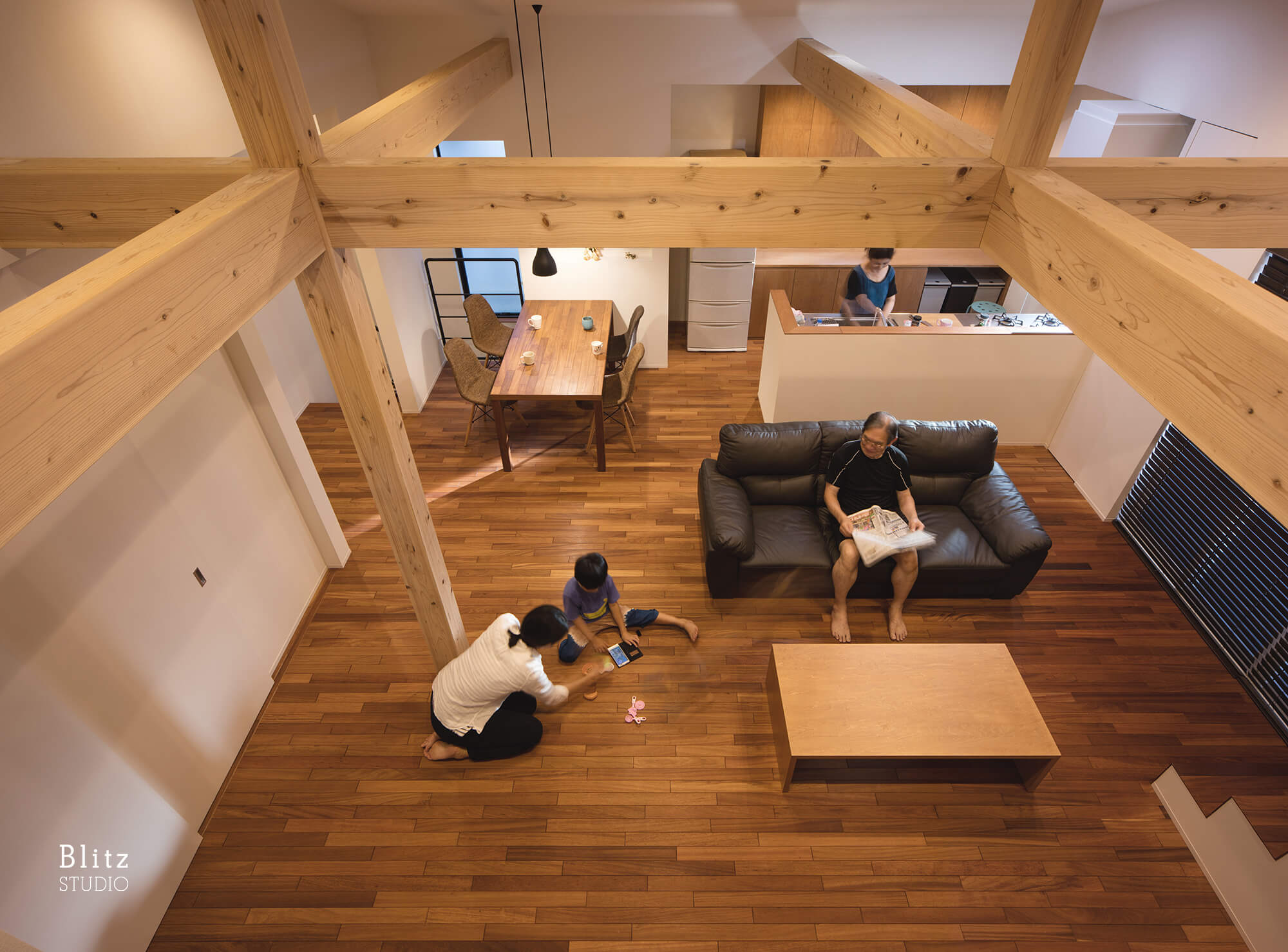 『IRIFUNE HOUSE』建築写真・竣工写真・インテリア写真12