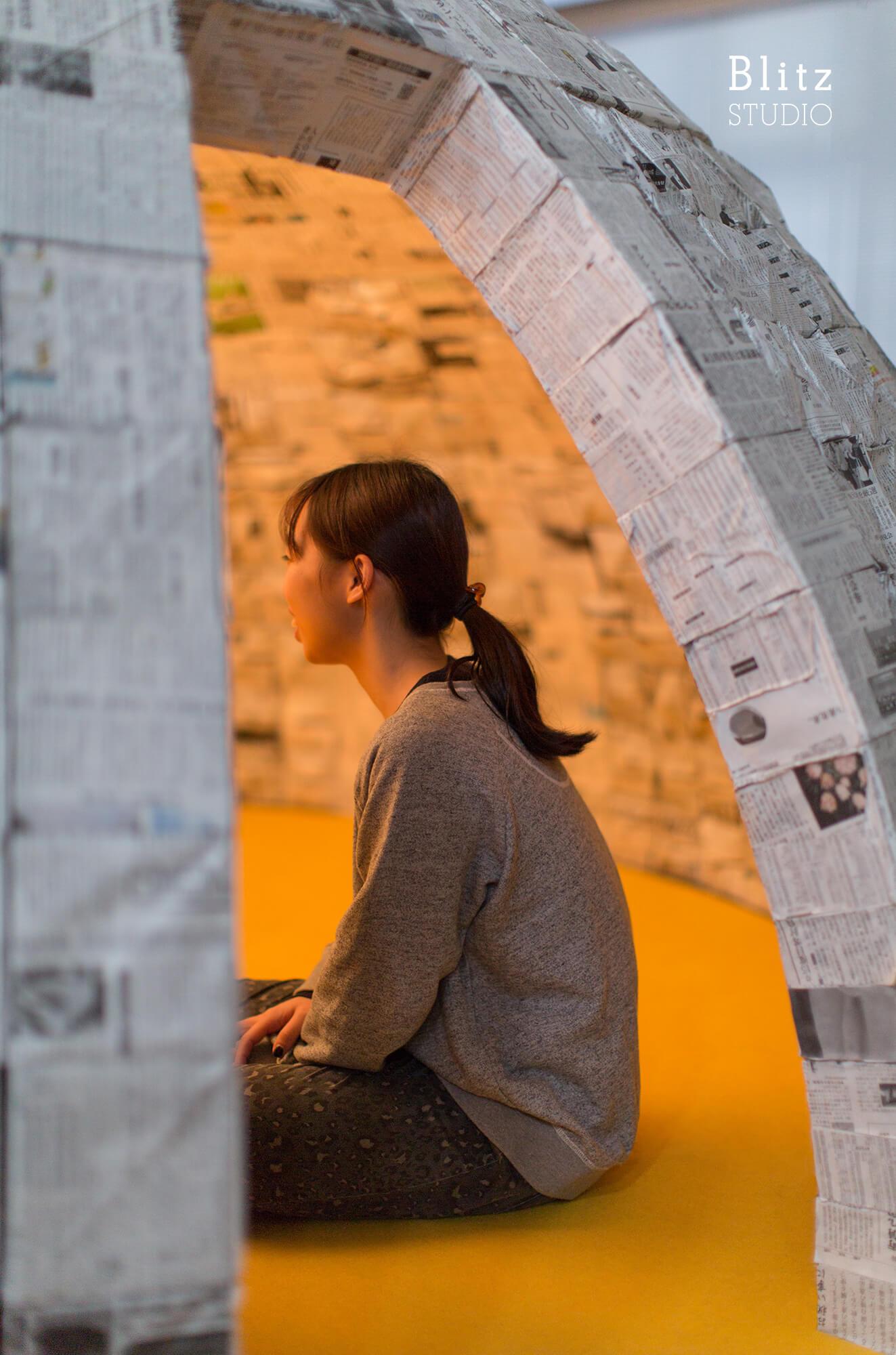 『新聞紙イグルー』建築写真・竣工写真・インテリア写真11