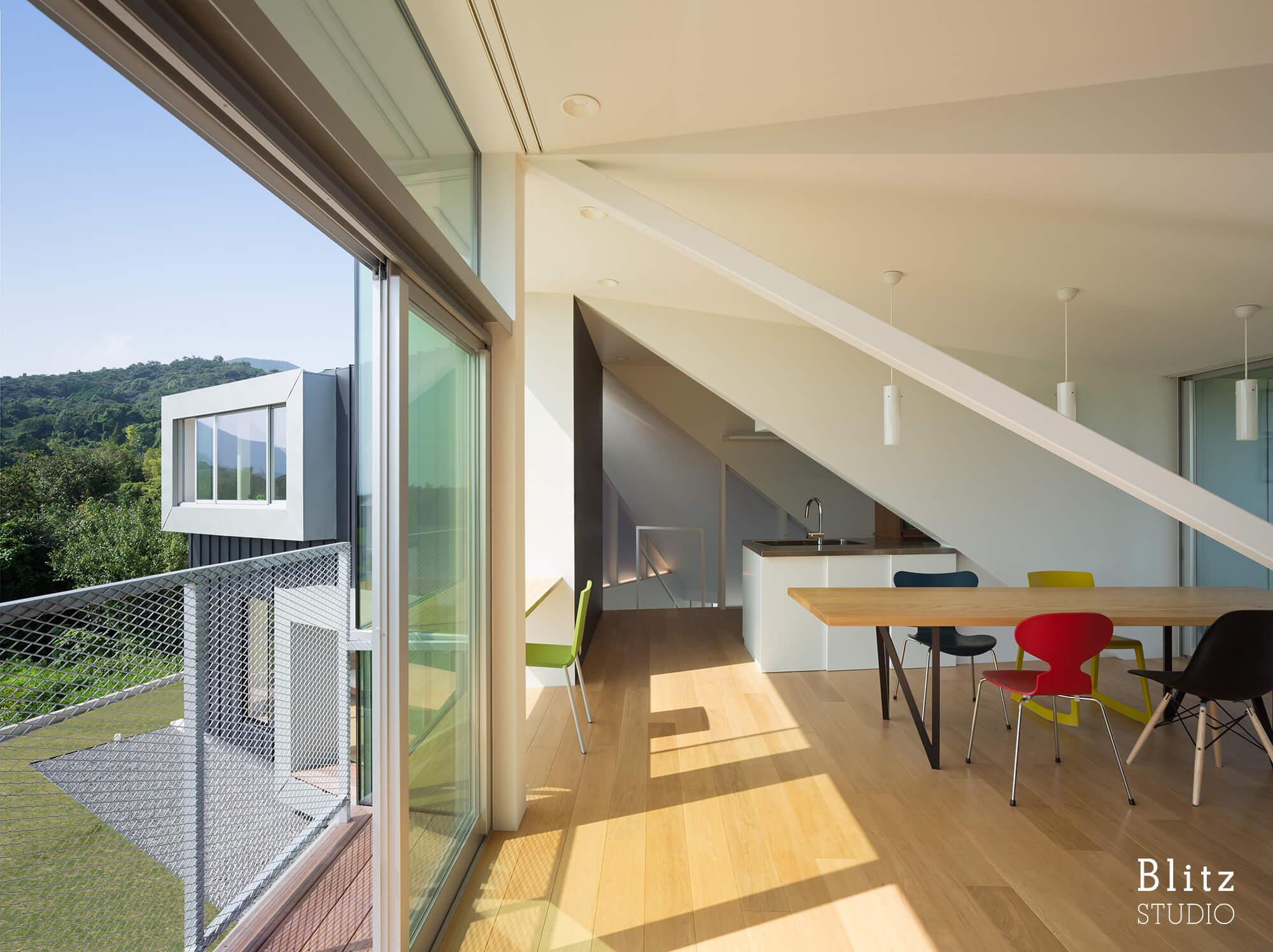 『吉野ヶ里の住宅』建築写真・竣工写真・インテリア写真15