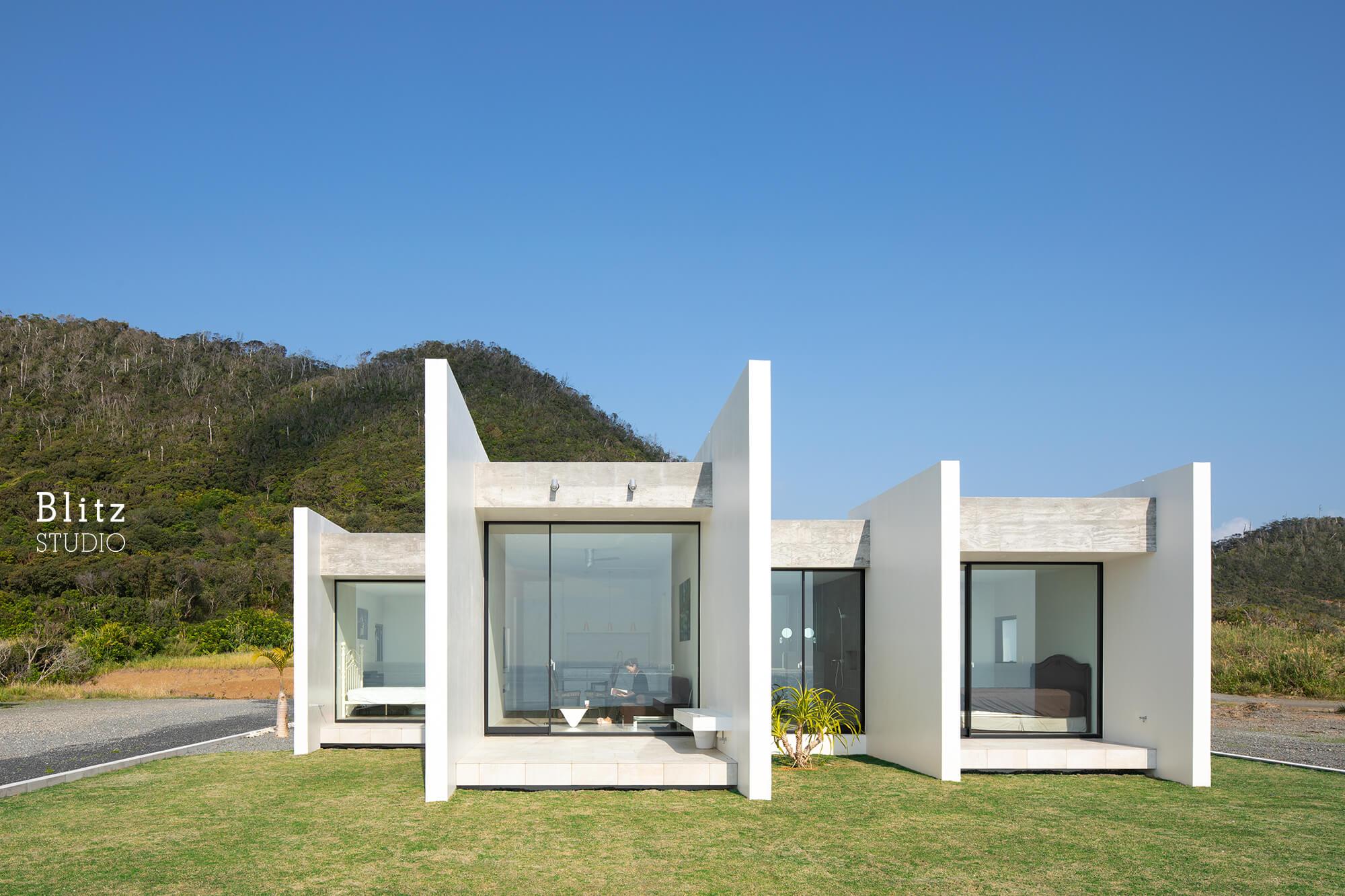 『太平洋を望む家』-鹿児島県奄美大島-建築写真・竣工写真・インテリア写真2