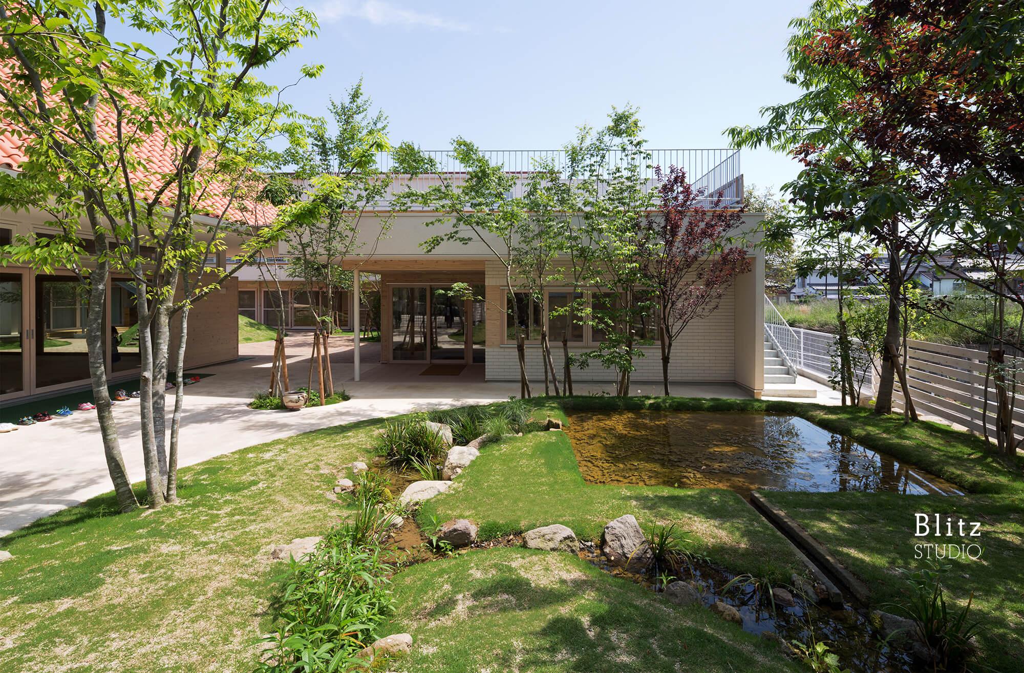 『みやまの森こども園』-長崎県諫早市-建築写真・竣工写真・インテリア写真3