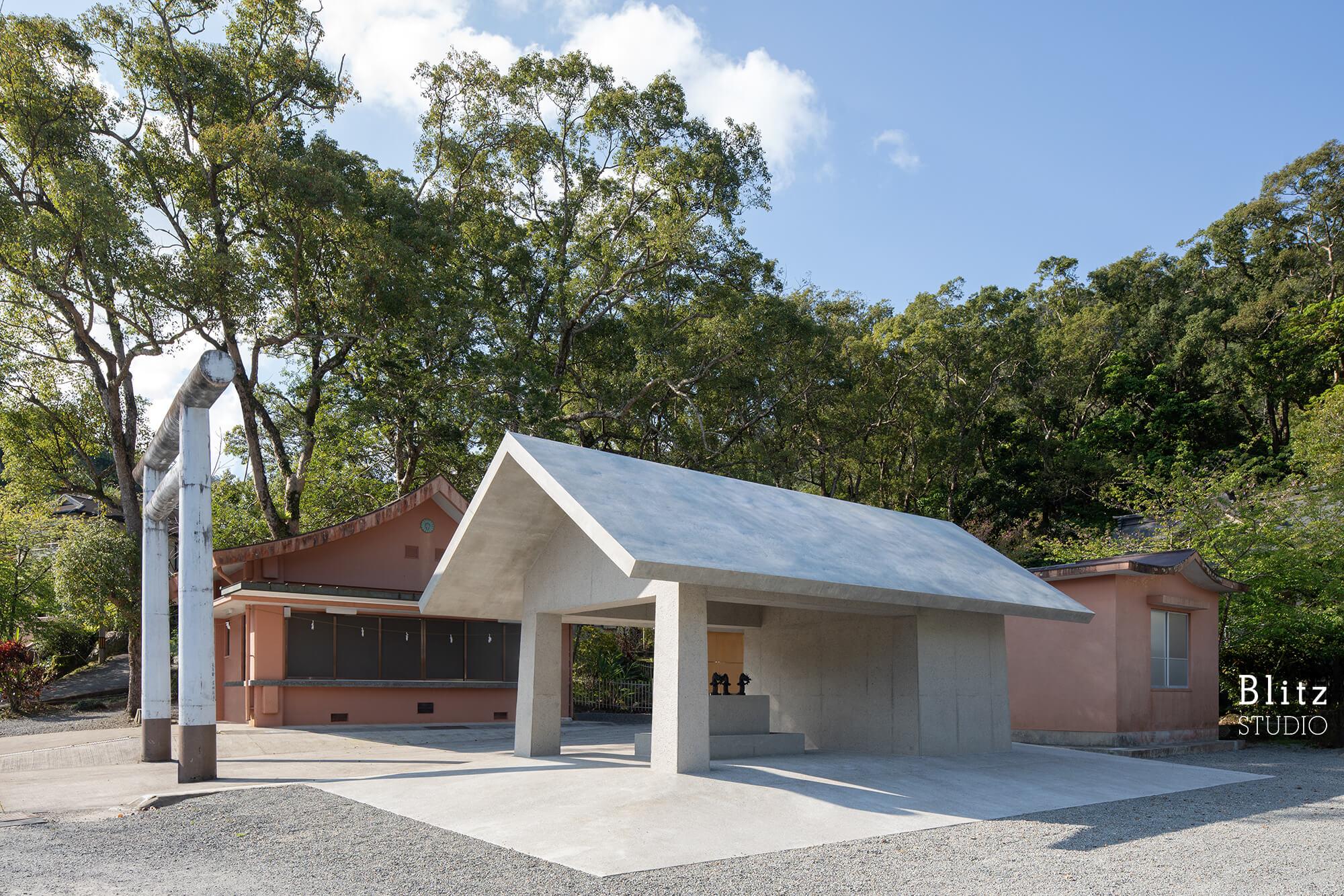 『高千穂神社』-鹿児島県奄美大島-建築写真・竣工写真・インテリア写真3