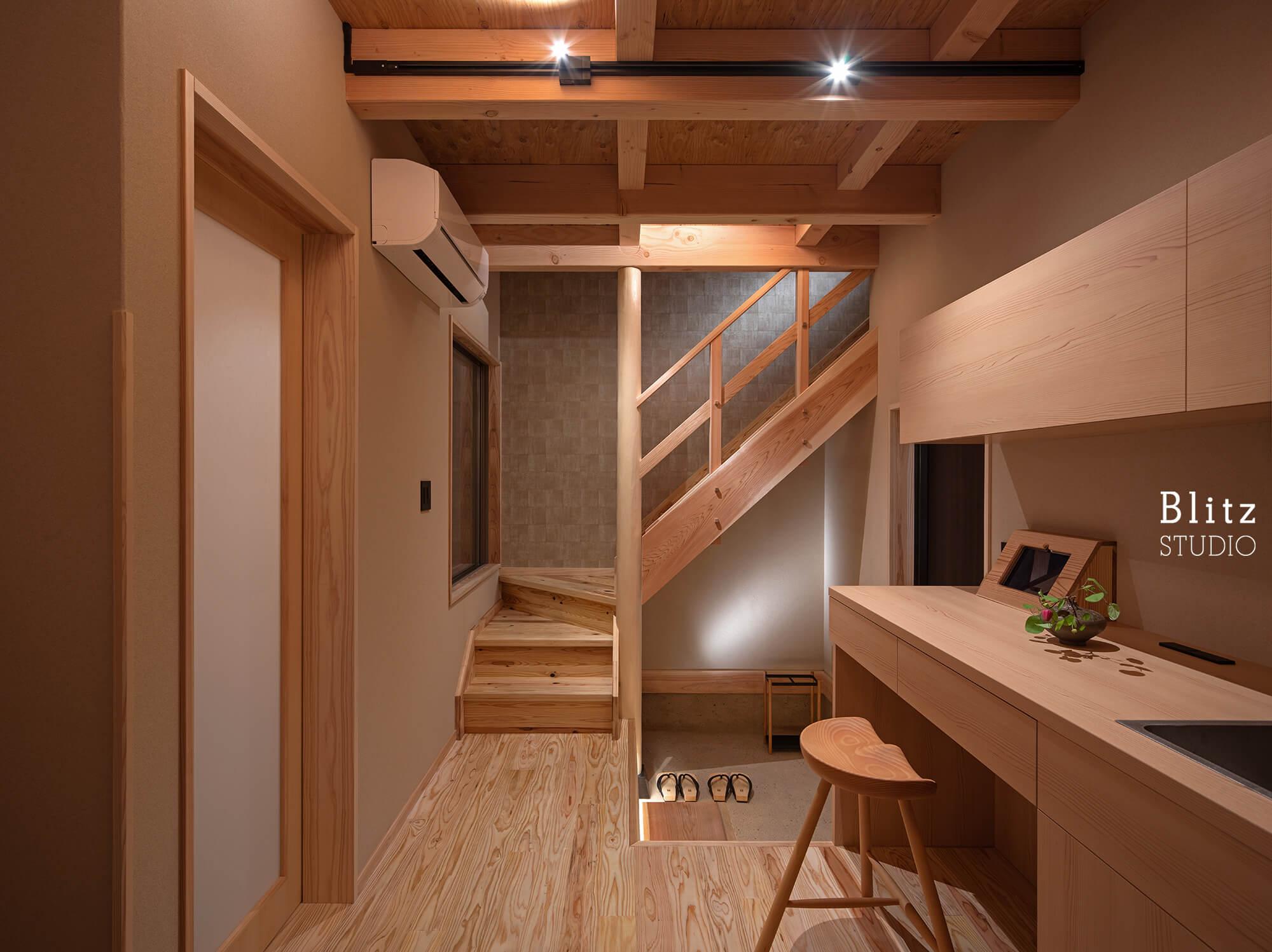 『博多の宿 徒然庵』-福岡県福岡市-建築写真・竣工写真・インテリア写真3