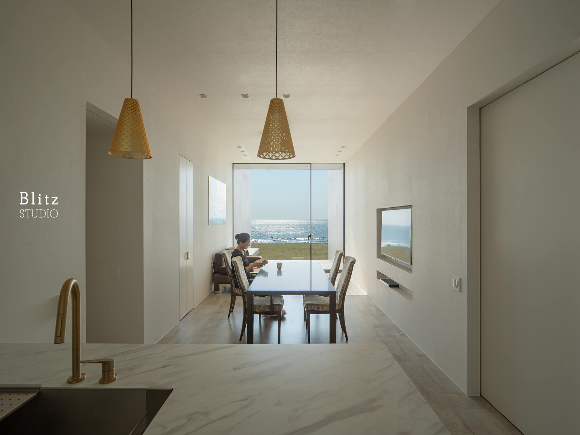 『太平洋を望む家』-鹿児島県奄美大島-建築写真・竣工写真・インテリア写真4