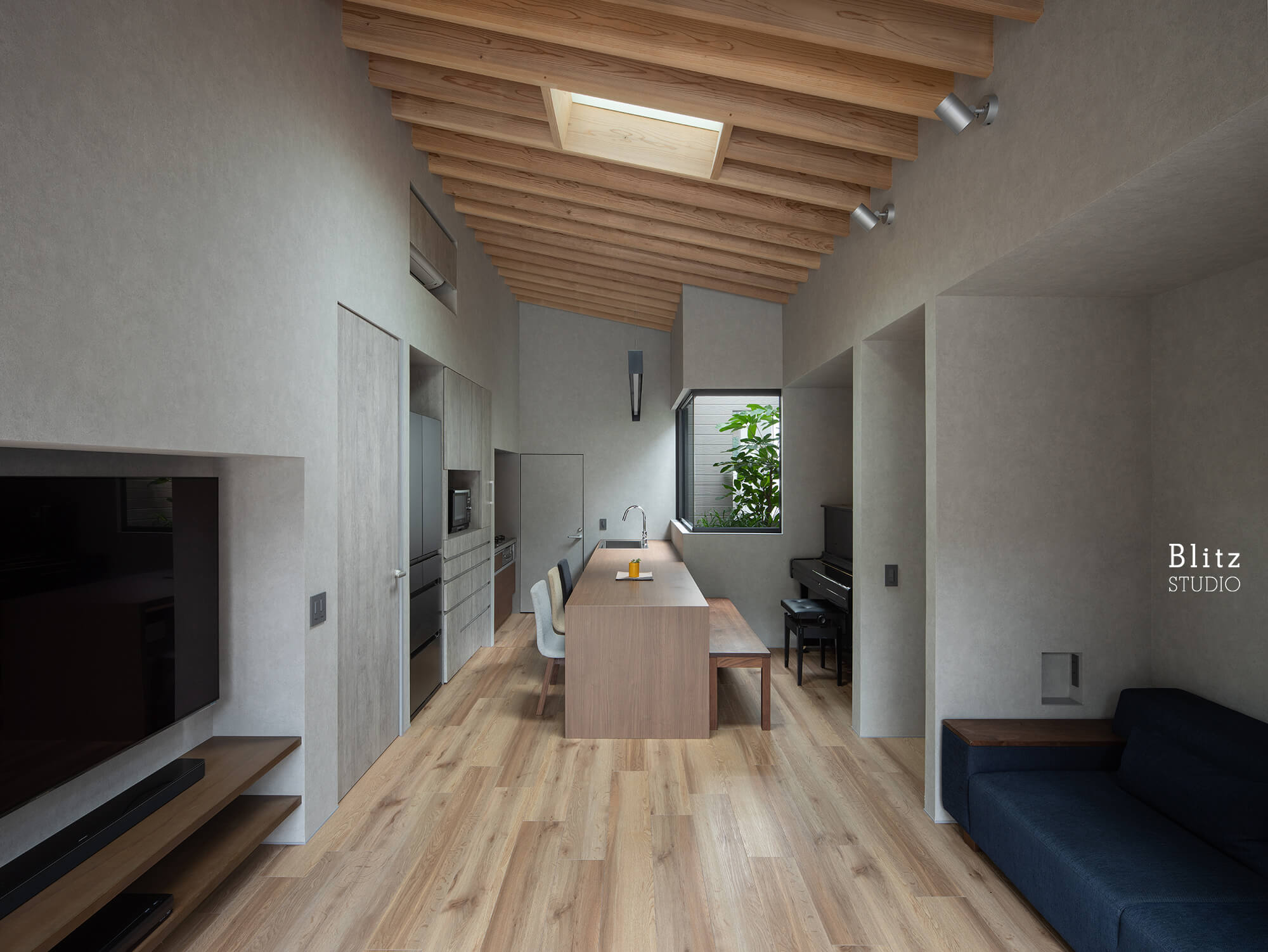 『鳩浜の家』-鹿児島県奄美市-建築写真・竣工写真・インテリア写真5