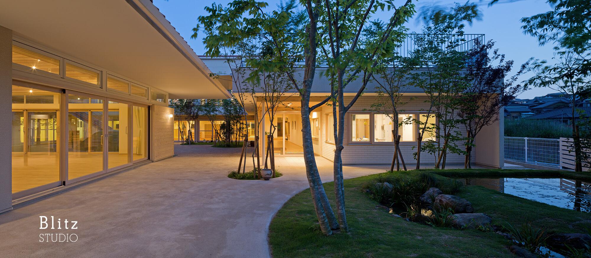 『みやまの森こども園』-長崎県諫早市-建築写真・竣工写真・インテリア写真5
