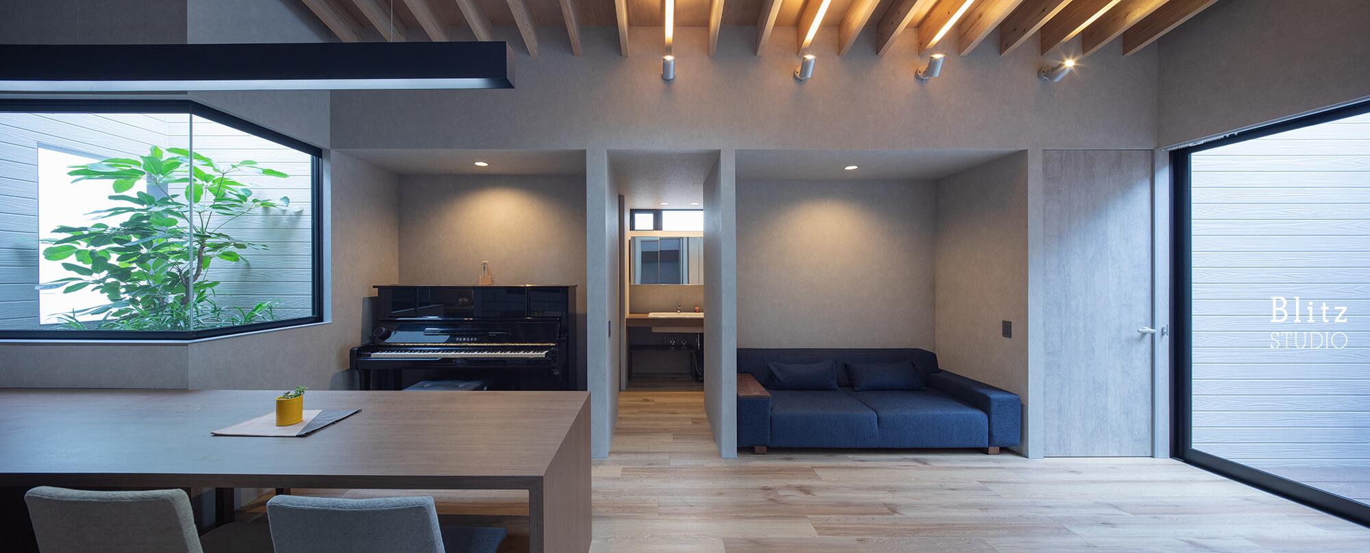 『鳩浜の家』建築写真・竣工写真・インテリア写真6