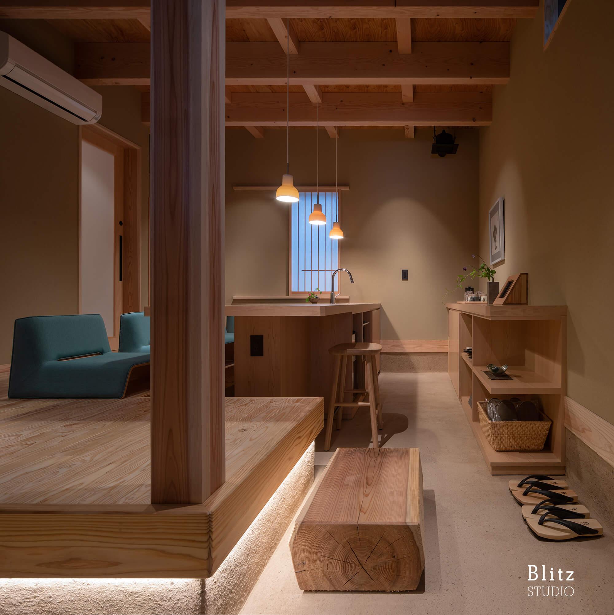 『博多の宿 徒然庵』-福岡県福岡市-建築写真・竣工写真・インテリア写真5
