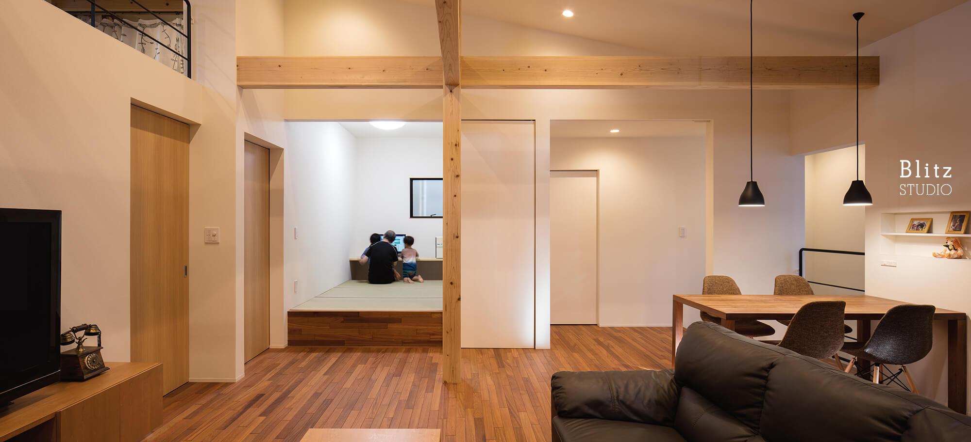 『IRIFUNE HOUSE』建築写真・竣工写真・インテリア写真6