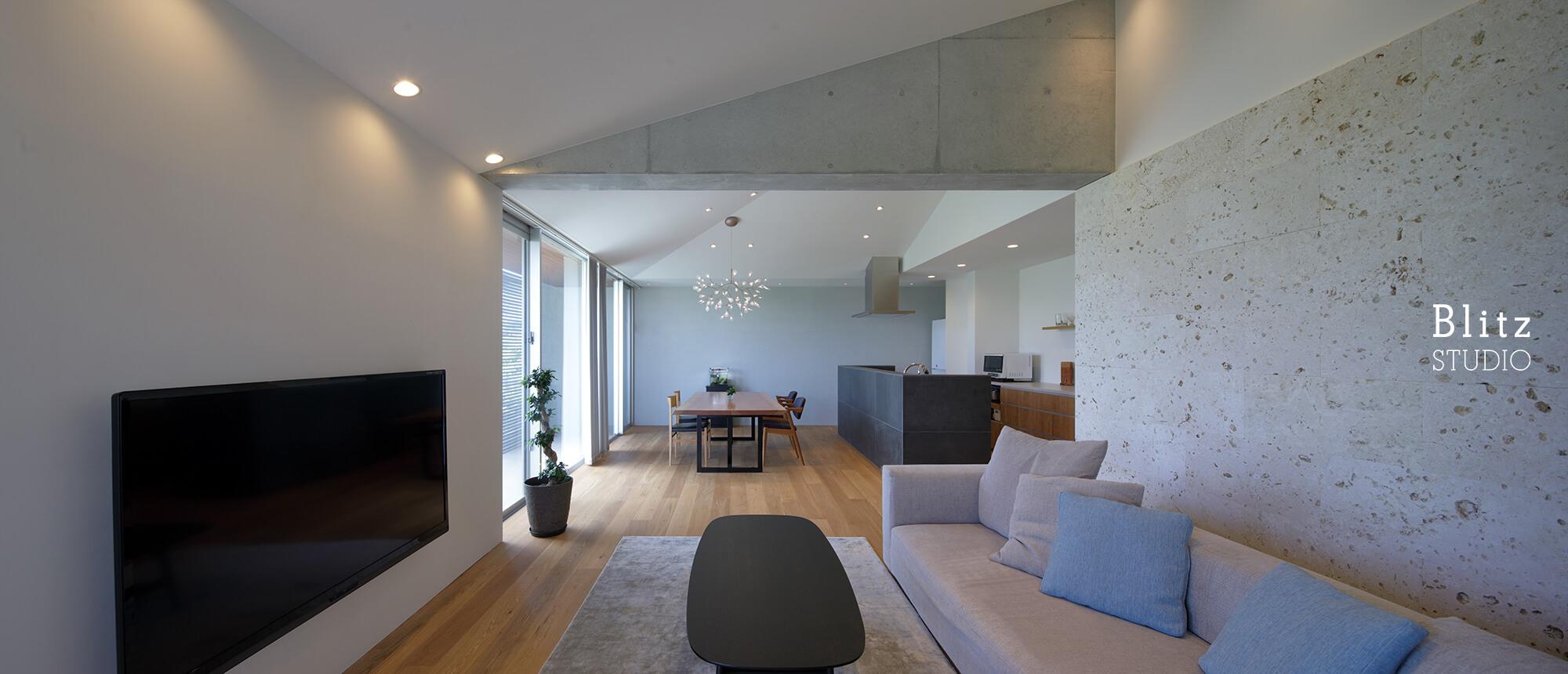 『古島の家』-沖縄県-建築写真・竣工写真・インテリア写真3