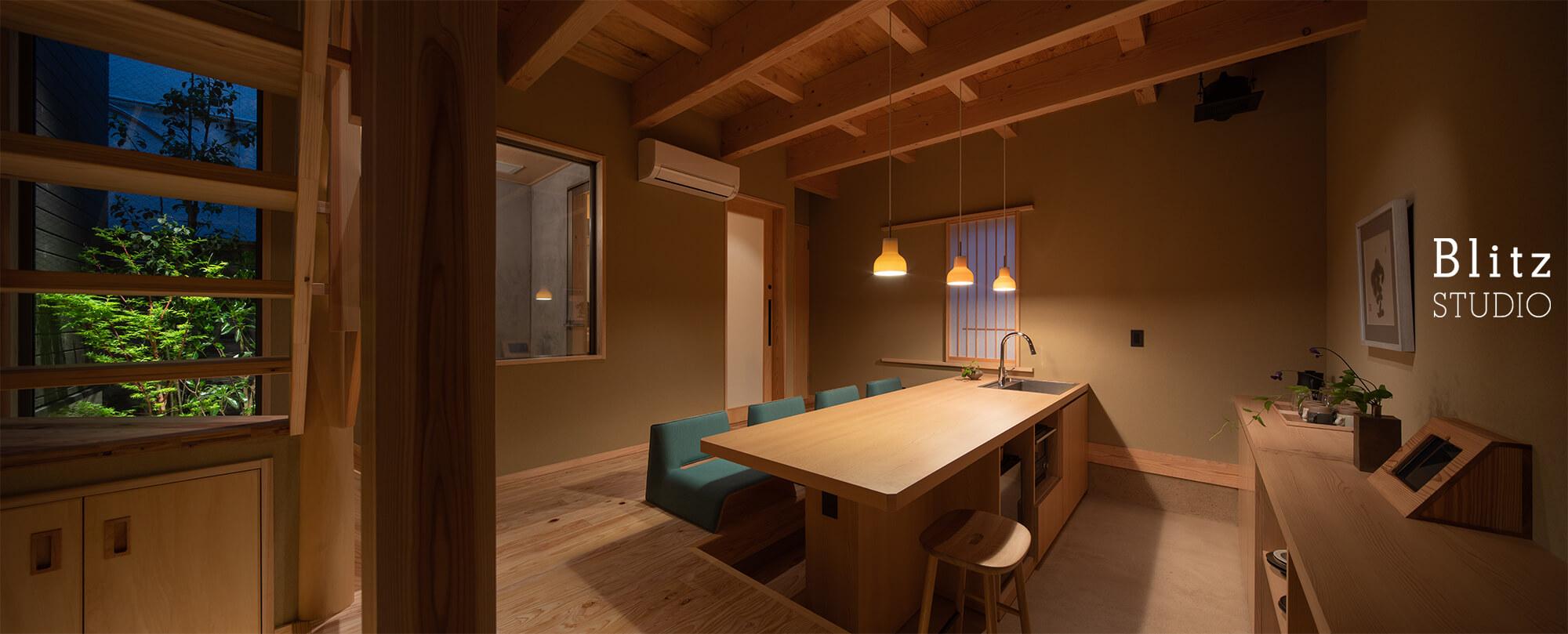 『博多の宿 徒然庵』建築写真・竣工写真・インテリア写真6
