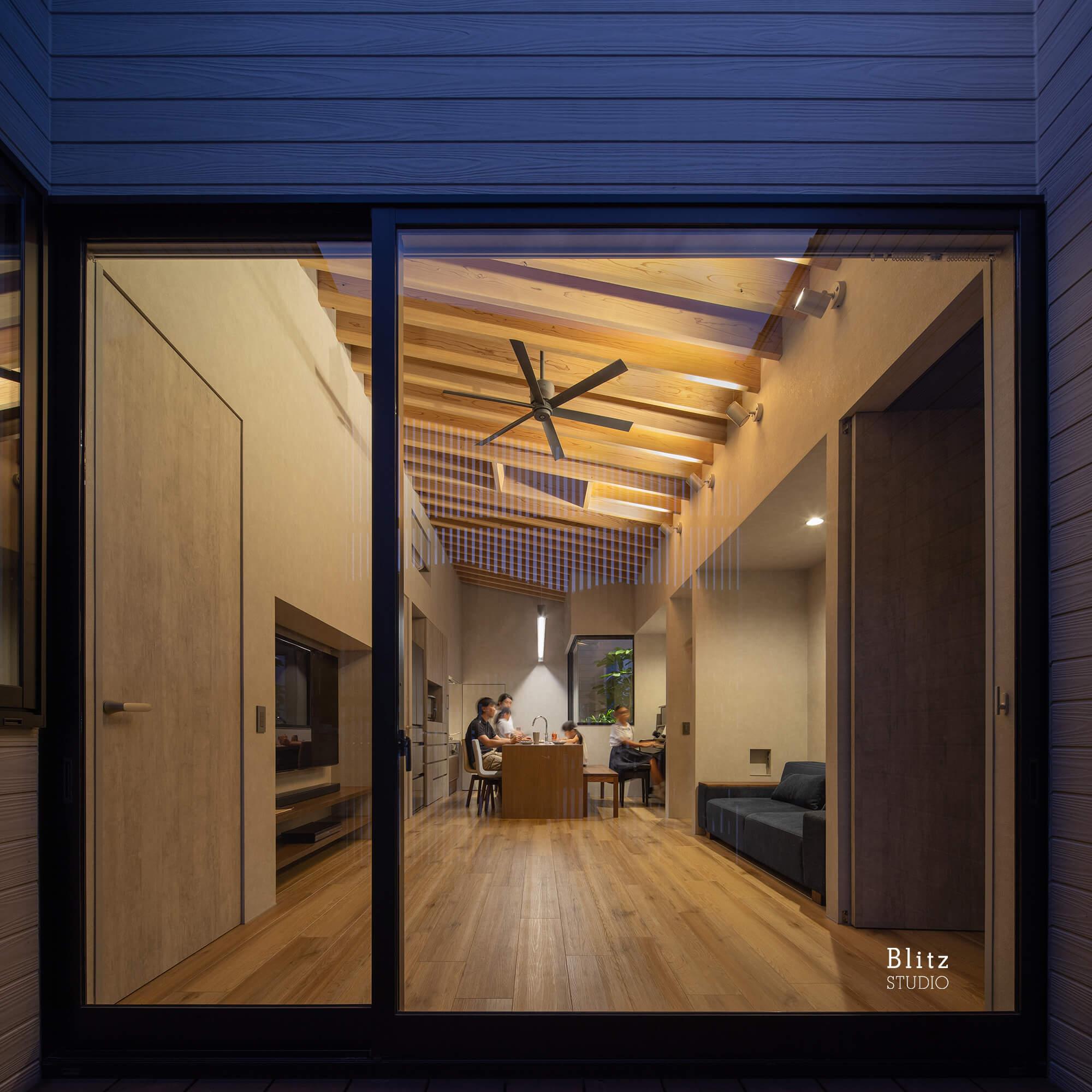 『鳩浜の家』建築写真・竣工写真・インテリア写真10