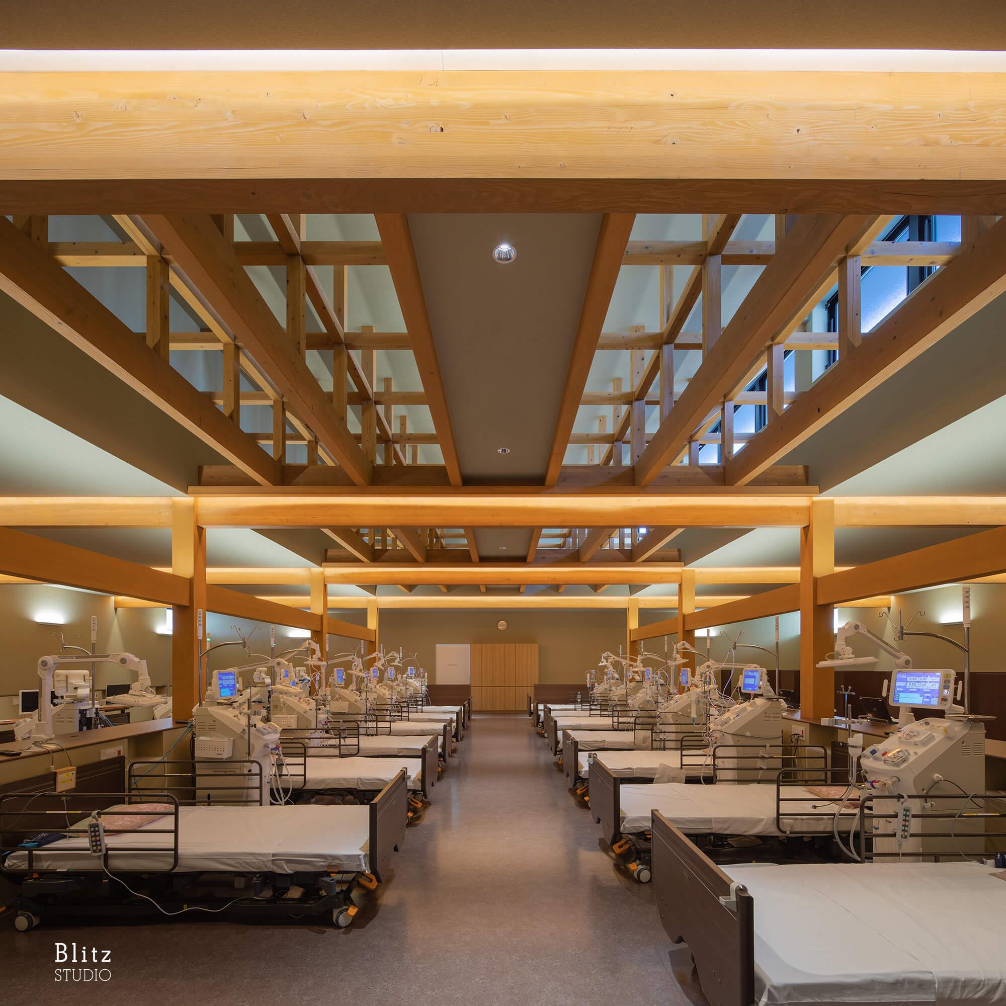 『福岡南透析クリニック』建築写真・竣工写真・インテリア写真9
