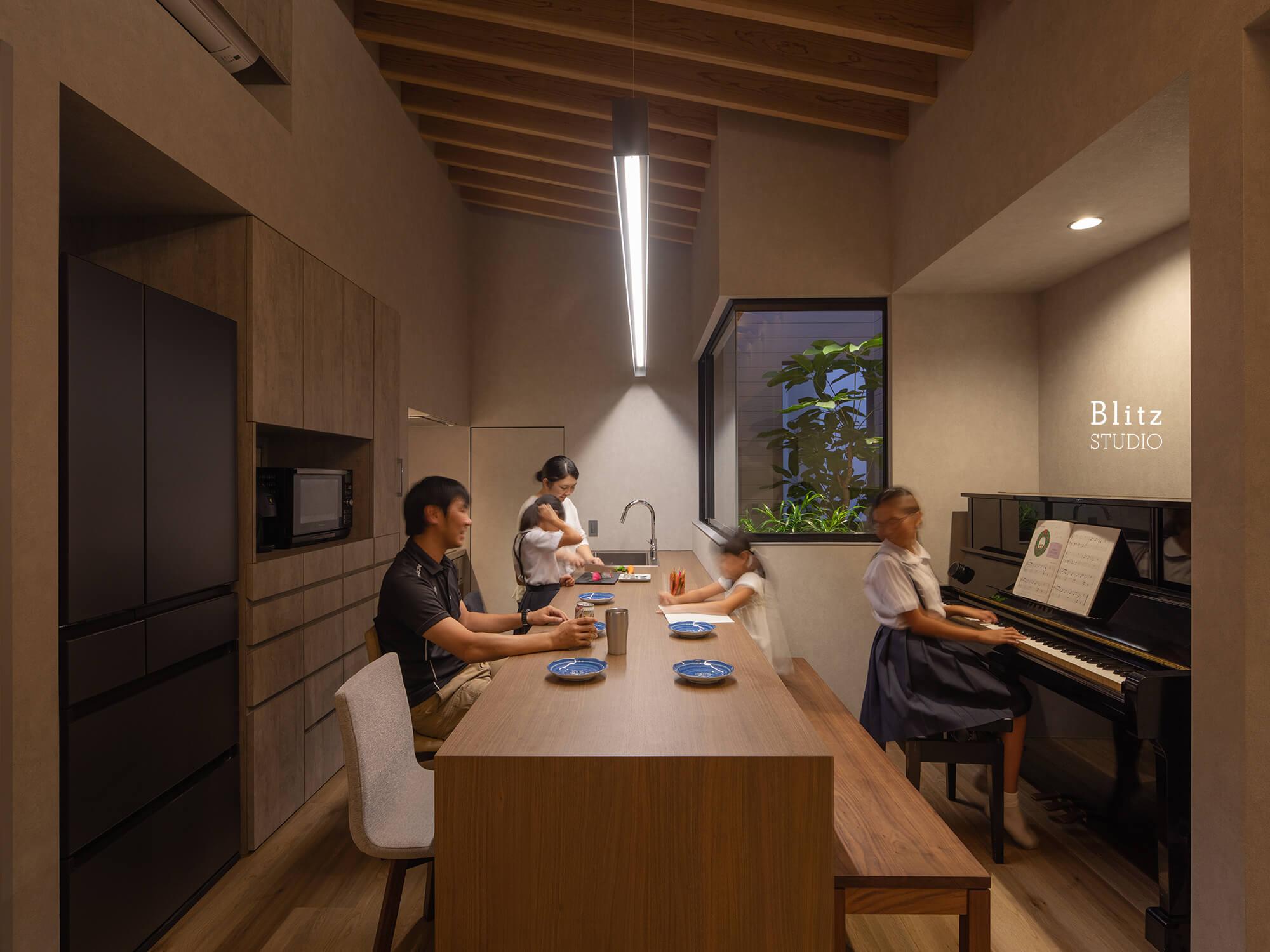 『鳩浜の家』建築写真・竣工写真・インテリア写真11