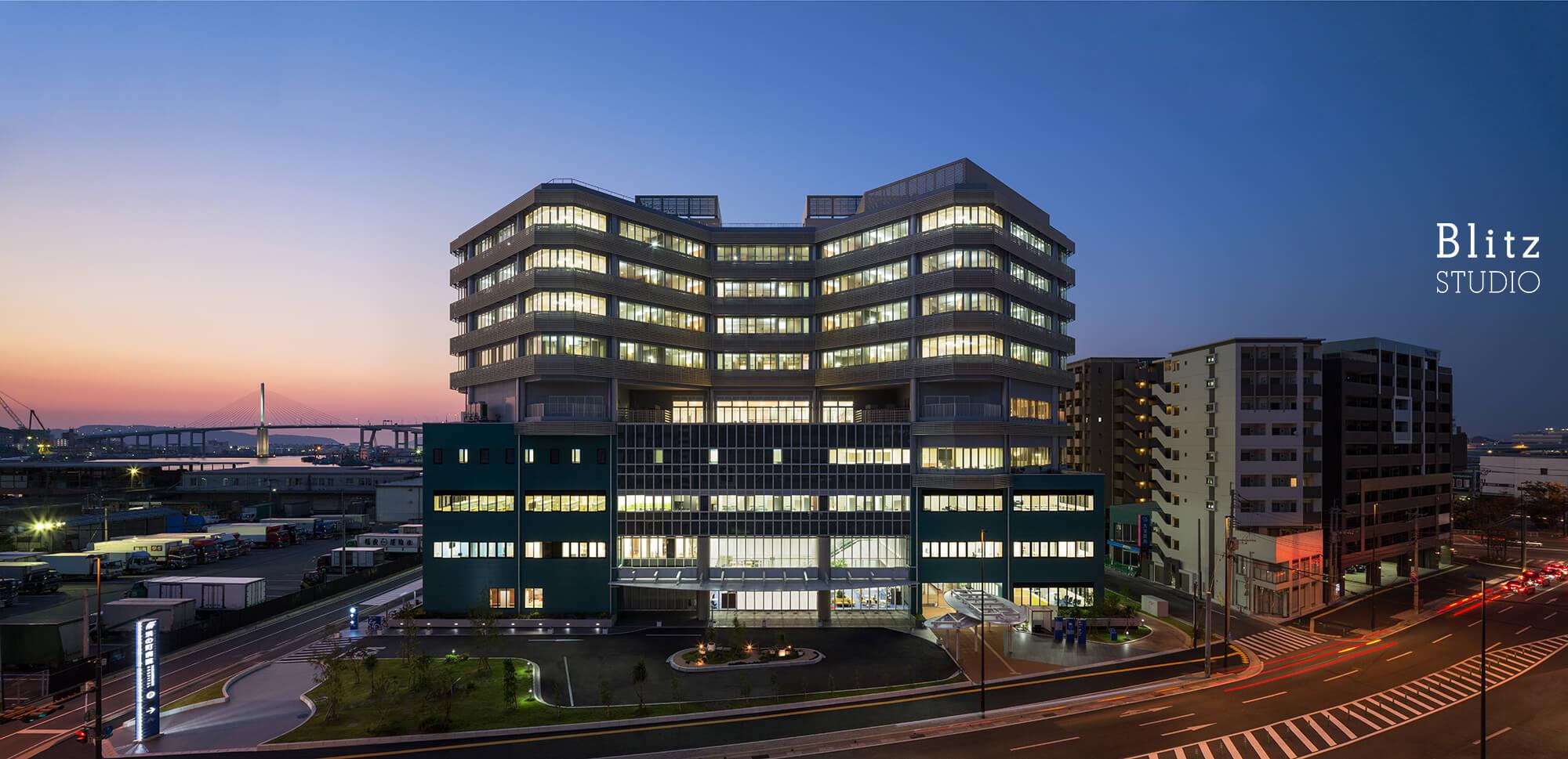『国家公務員共済組合連合会 浜の町病院』建築写真・竣工写真・インテリア写真7