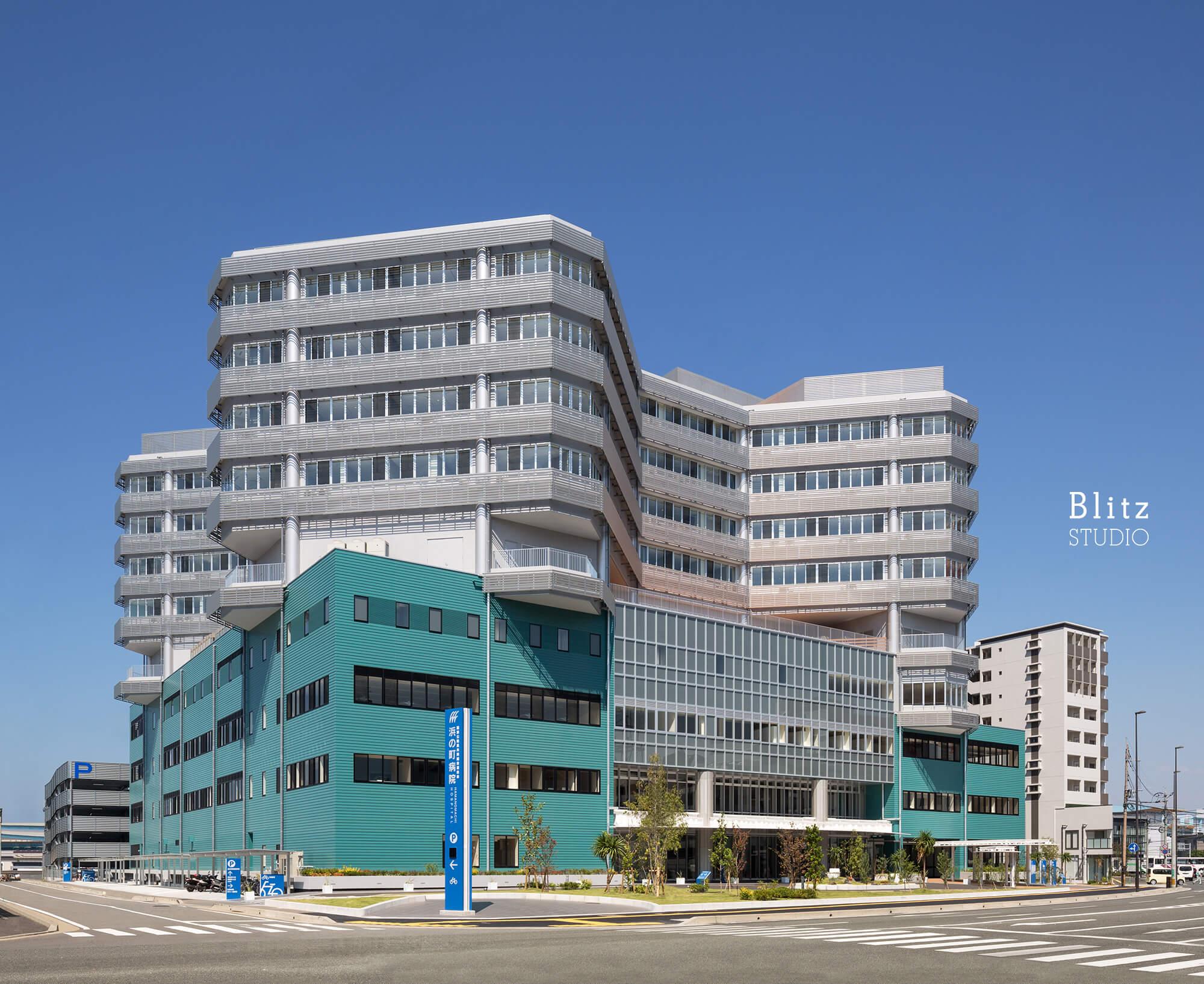 『国家公務員共済組合連合会 浜の町病院』-福岡県福岡市-建築写真・竣工写真・インテリア写真3