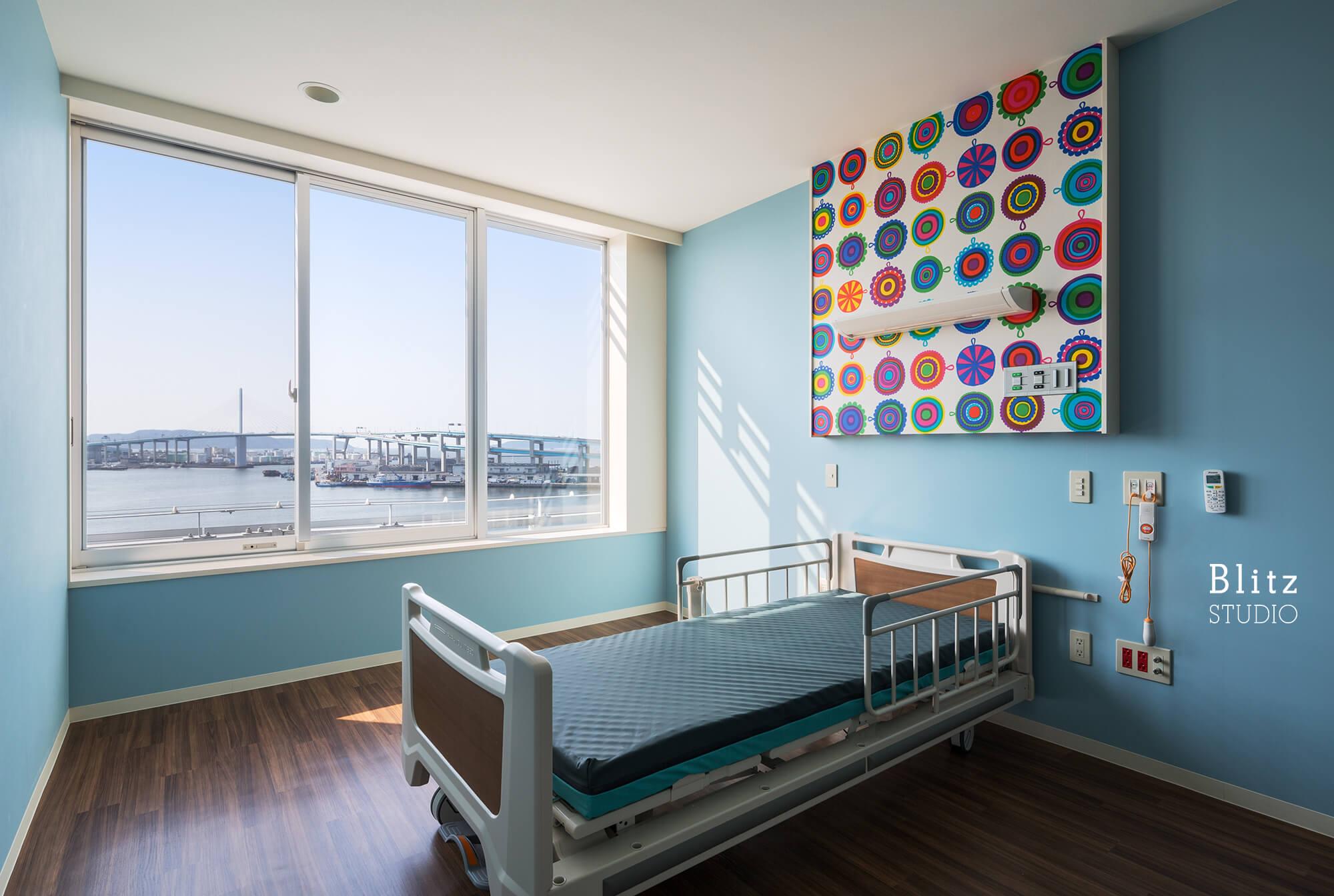 『国家公務員共済組合連合会 浜の町病院』建築写真・竣工写真・インテリア写真22