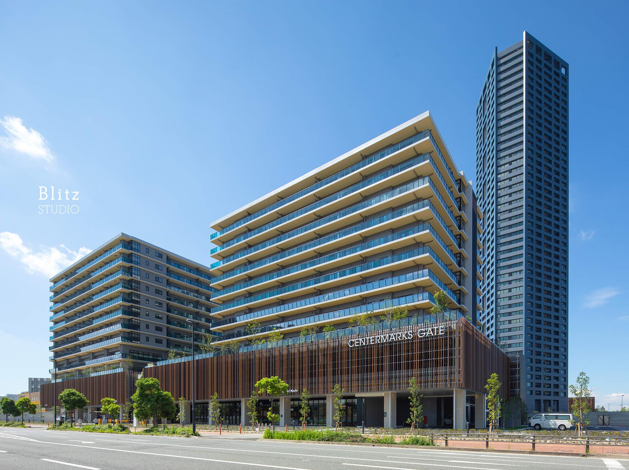 『センターマークスゲート』-福岡県福岡市-建築写真・竣工写真・インテリア写真1