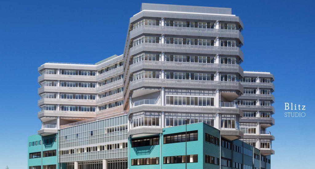 『国家公務員共済組合連合会 浜の町病院』-福岡県福岡市-建築写真・竣工写真・インテリア写真