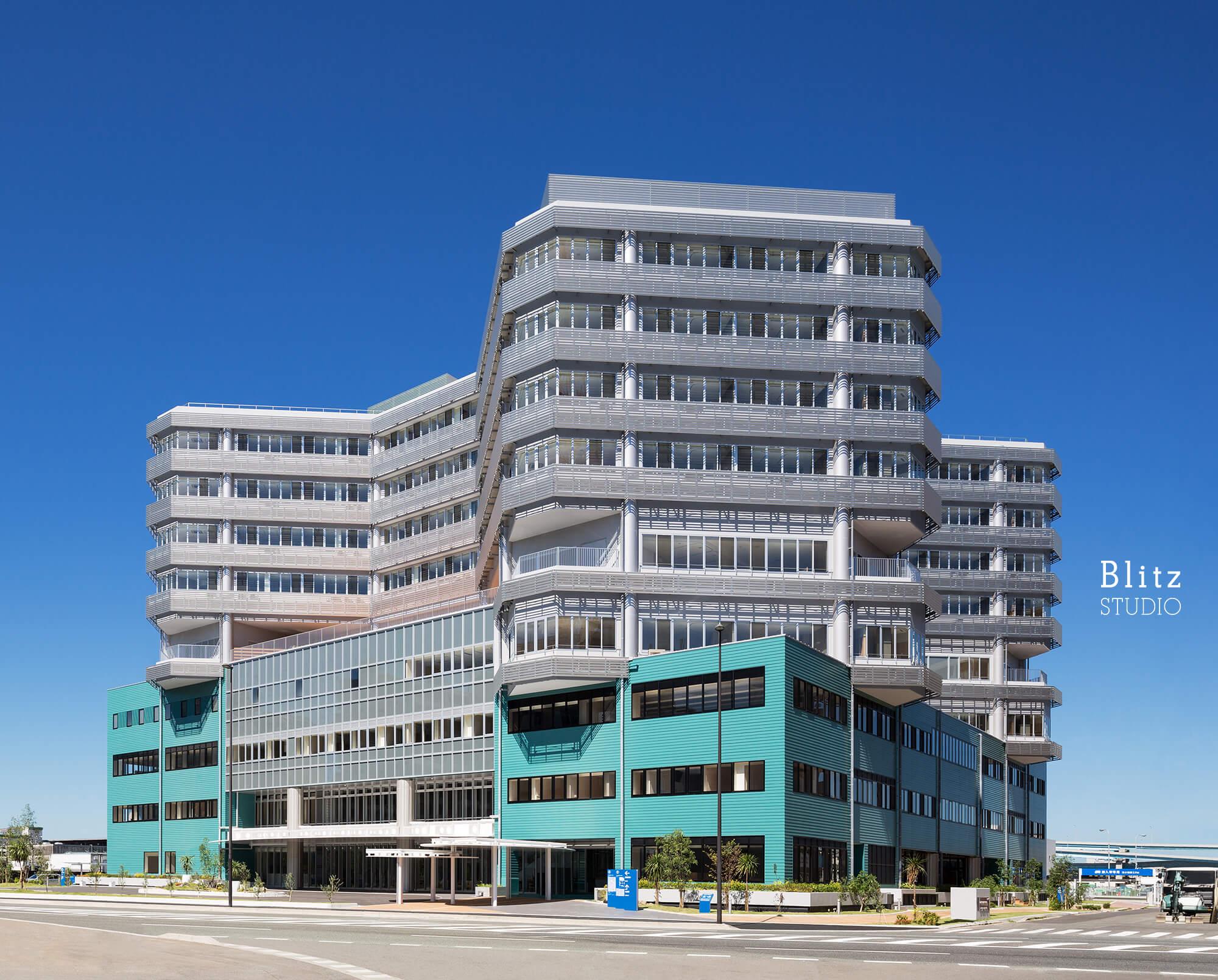 『国家公務員共済組合連合会 浜の町病院』-福岡県福岡市-建築写真・竣工写真・インテリア写真1