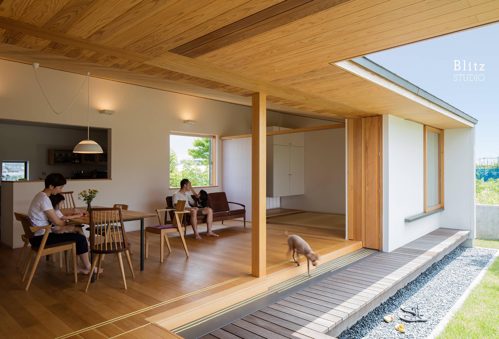 『筑後の家』建築写真・竣工写真・インテリア写真11