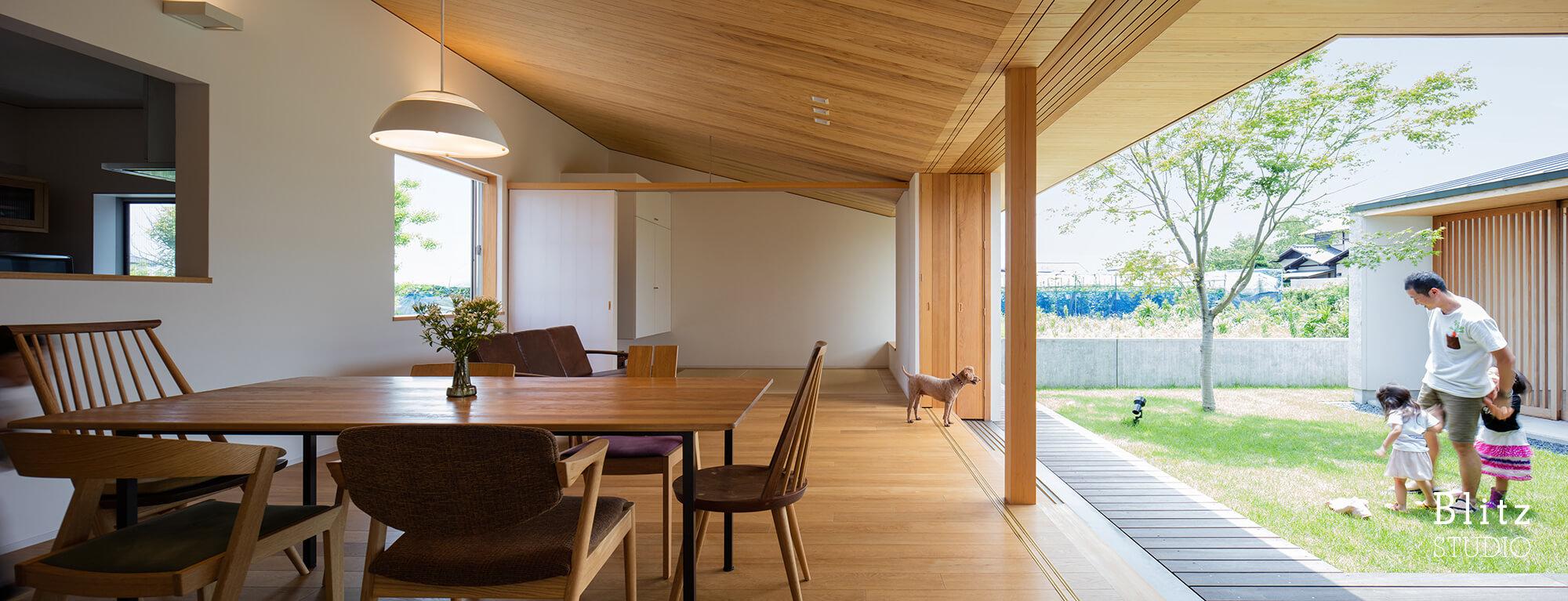 『筑後の家』建築写真・竣工写真・インテリア写真12
