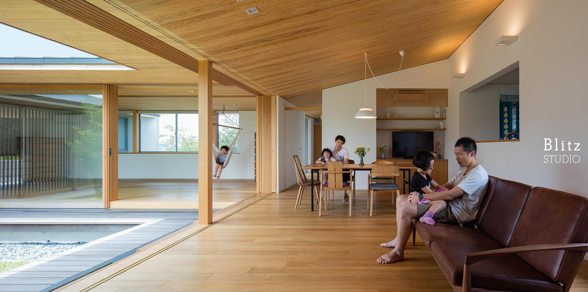 『筑後の家』建築写真・竣工写真・インテリア写真13