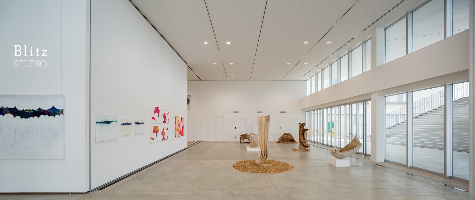 『佐賀大学 美術館』建築写真・竣工写真・インテリア写真14