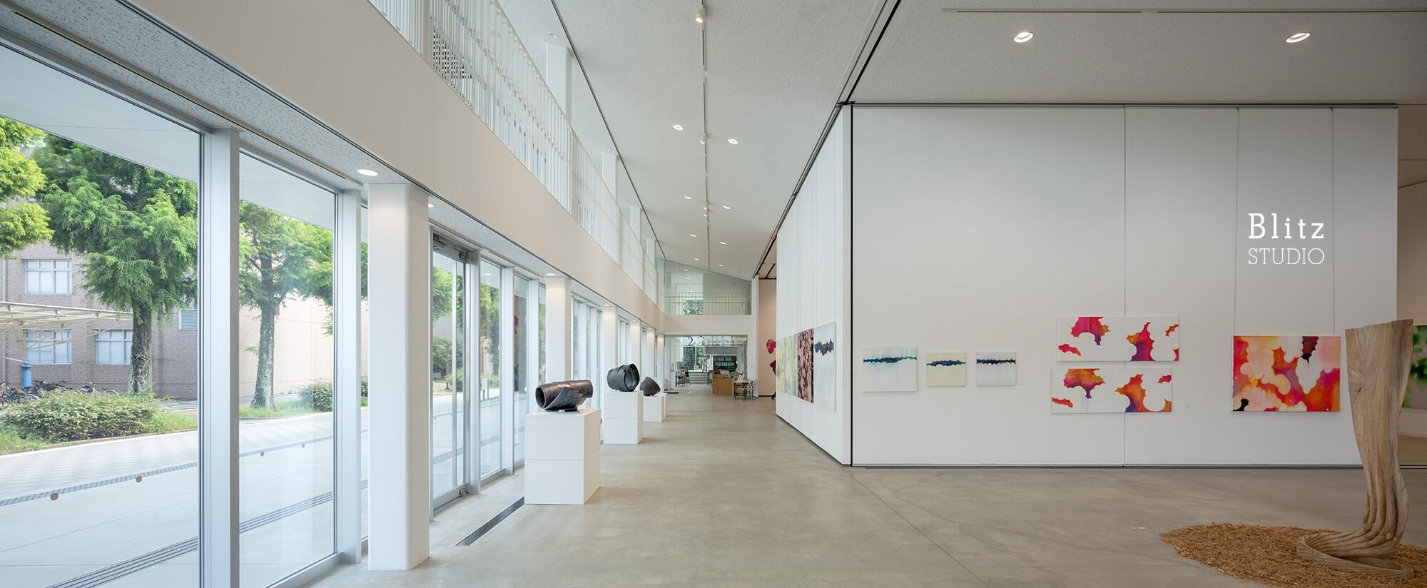 『佐賀大学 美術館』建築写真・竣工写真・インテリア写真15