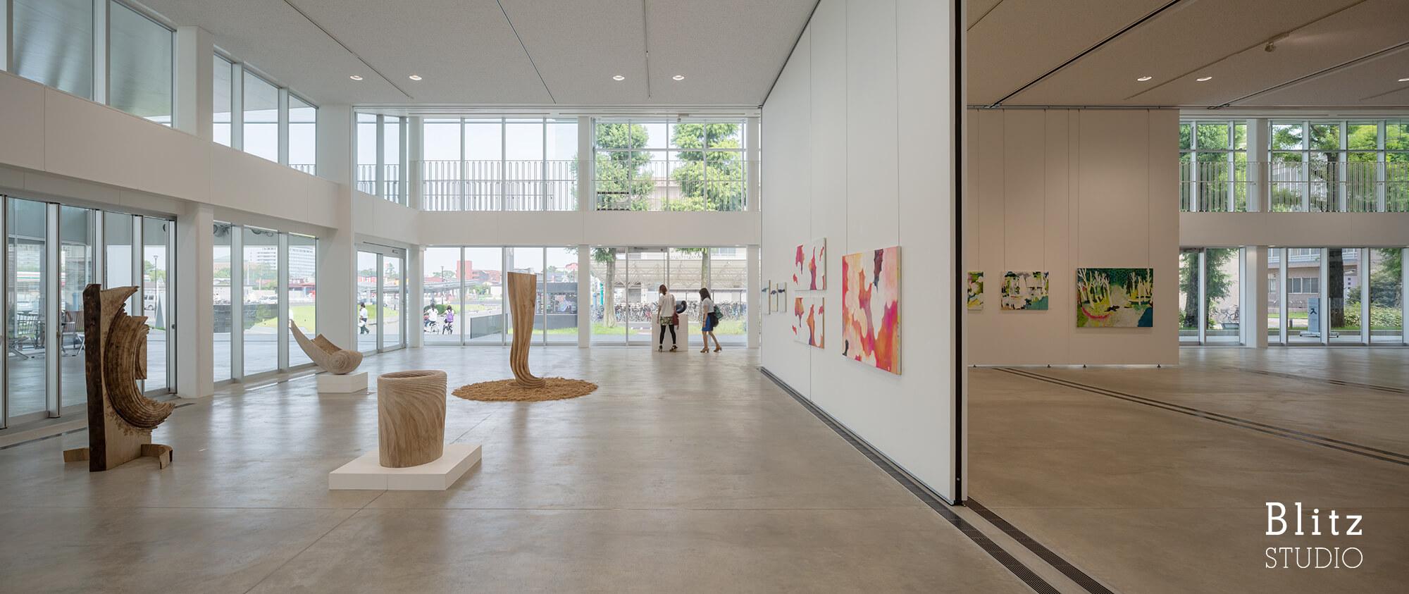 『佐賀大学 美術館』建築写真・竣工写真・インテリア写真16