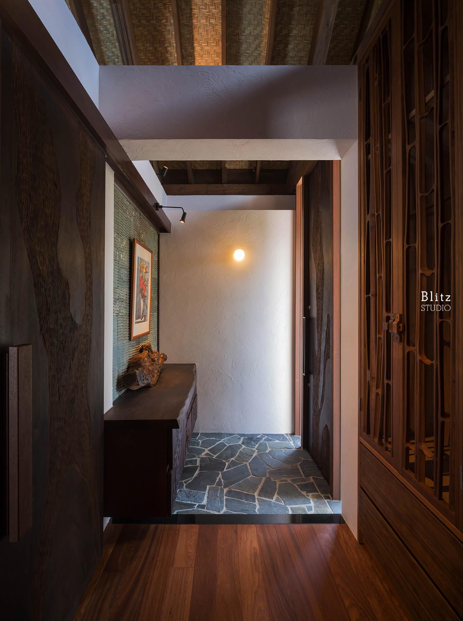 『座喜味のヴィラ』-沖縄県中頭郡読谷村-建築写真・竣工写真・インテリア写真2