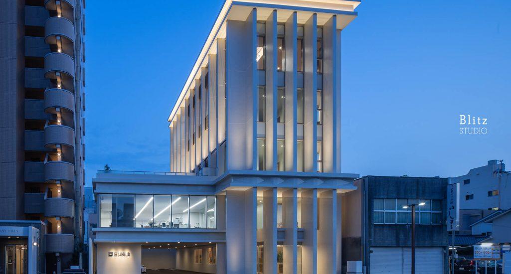 『日商保険ビル』-福岡県久留米市-建築写真・竣工写真・インテリア写真