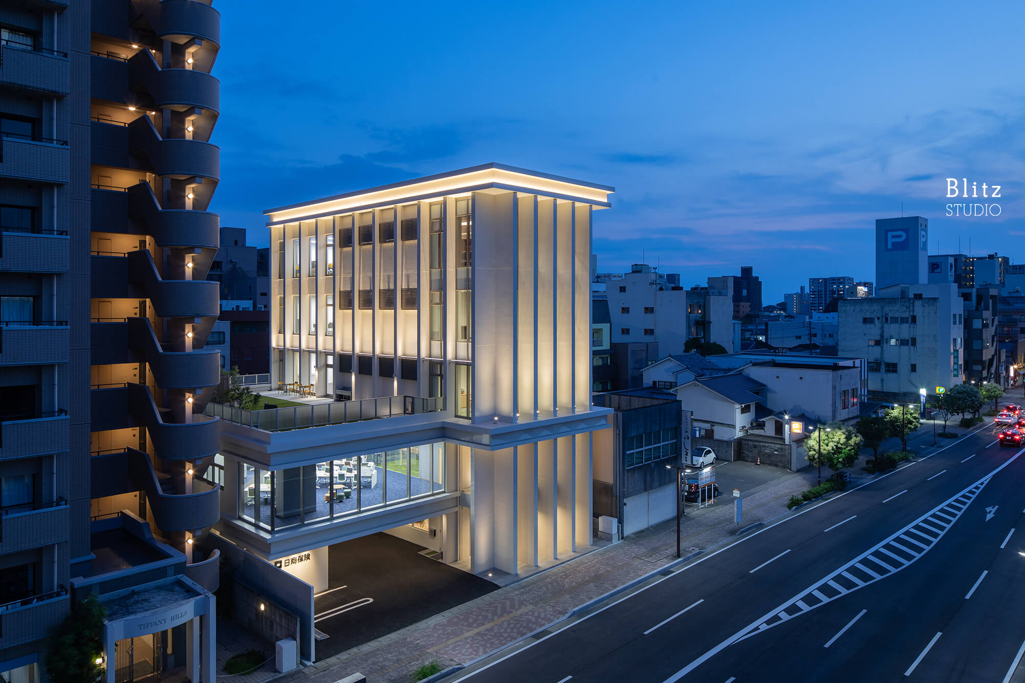 『日商保険ビル』建築写真・竣工写真・インテリア写真6