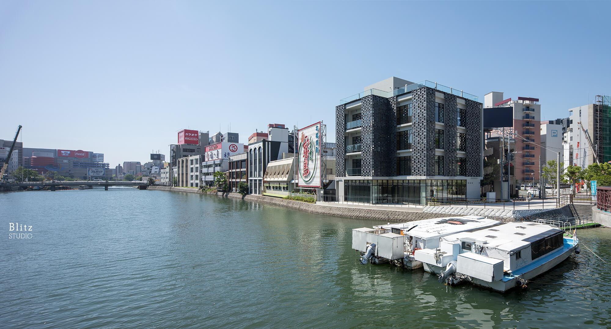 『HTSビル』-福岡県福岡市-建築写真・竣工写真・インテリア写真1