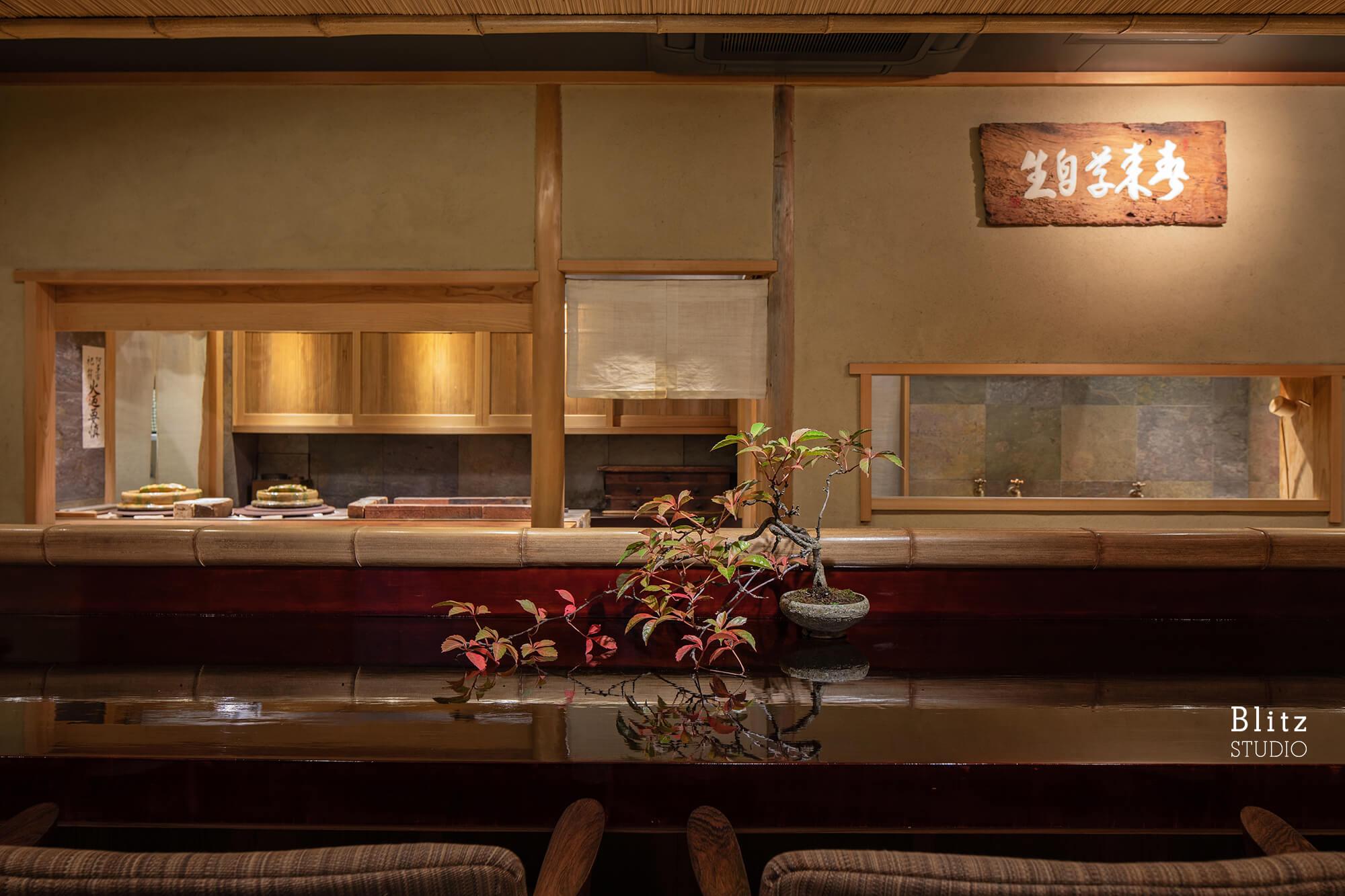 『盆栽家・島津拓哉 02』-馳走なかむら-建築写真・竣工写真・インテリア写真2